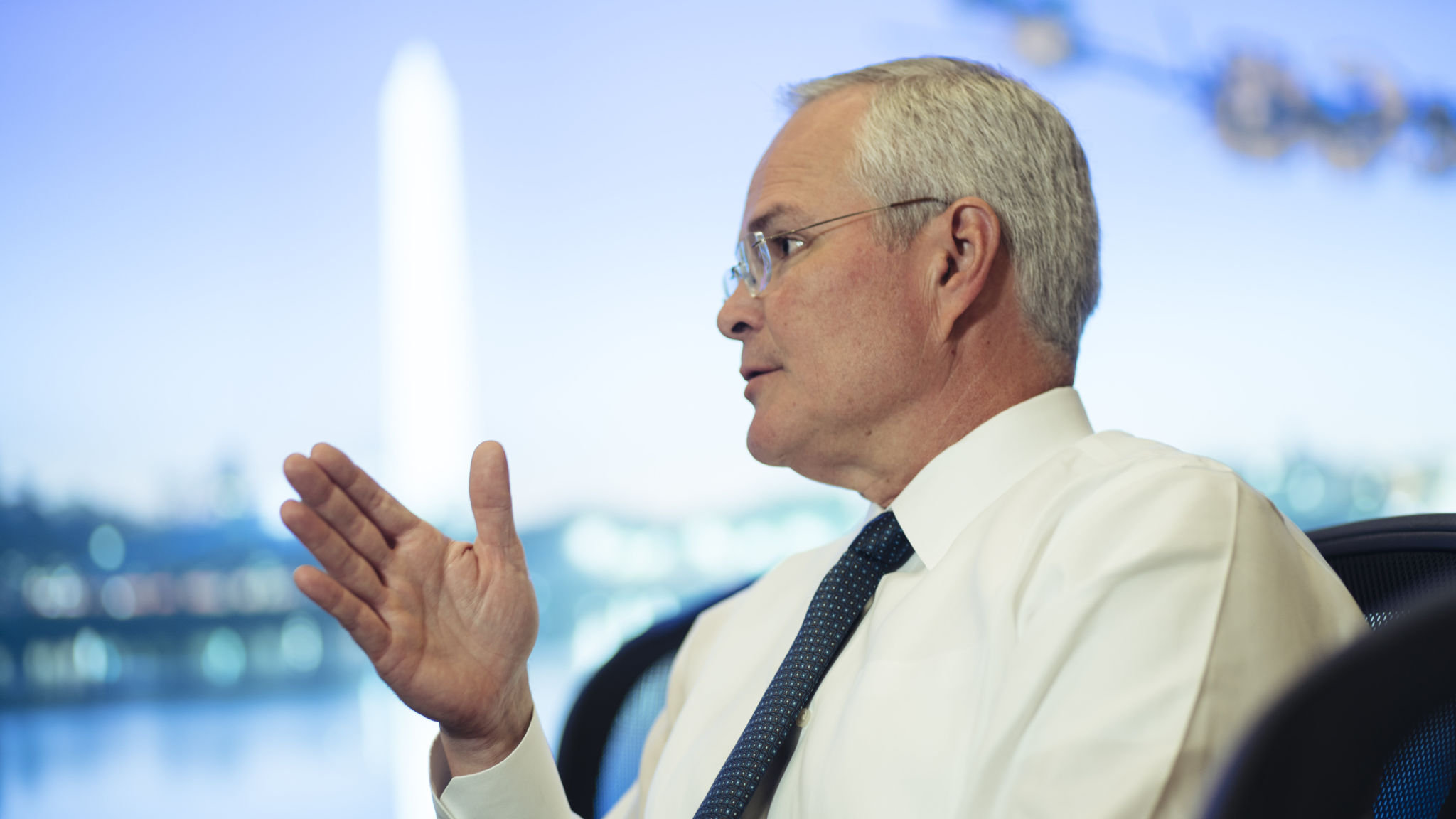 ExxonMobil's Darren Woods vows engagement and openness