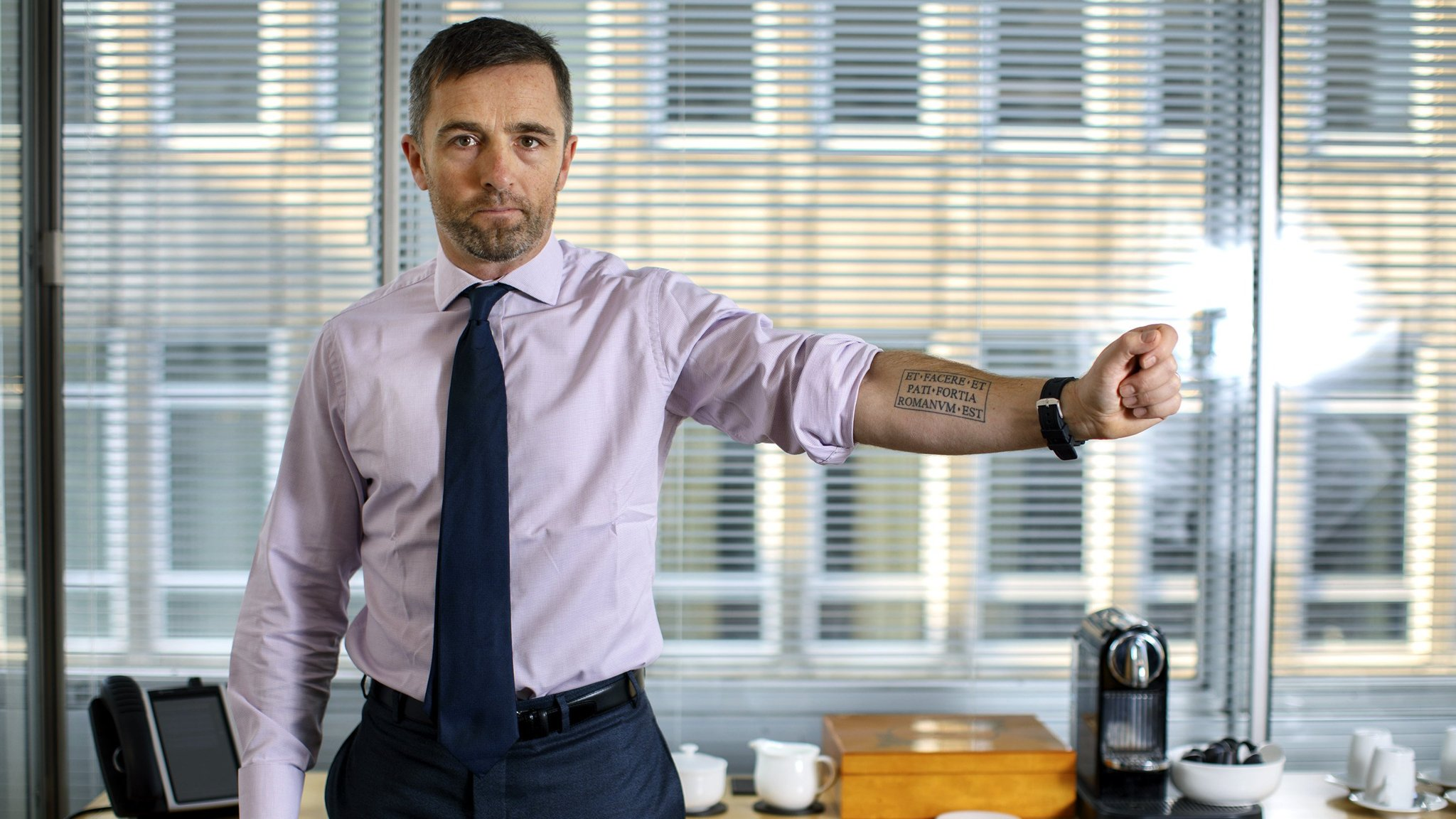 Tattoos Bring A New Form Of Body Language To The Office