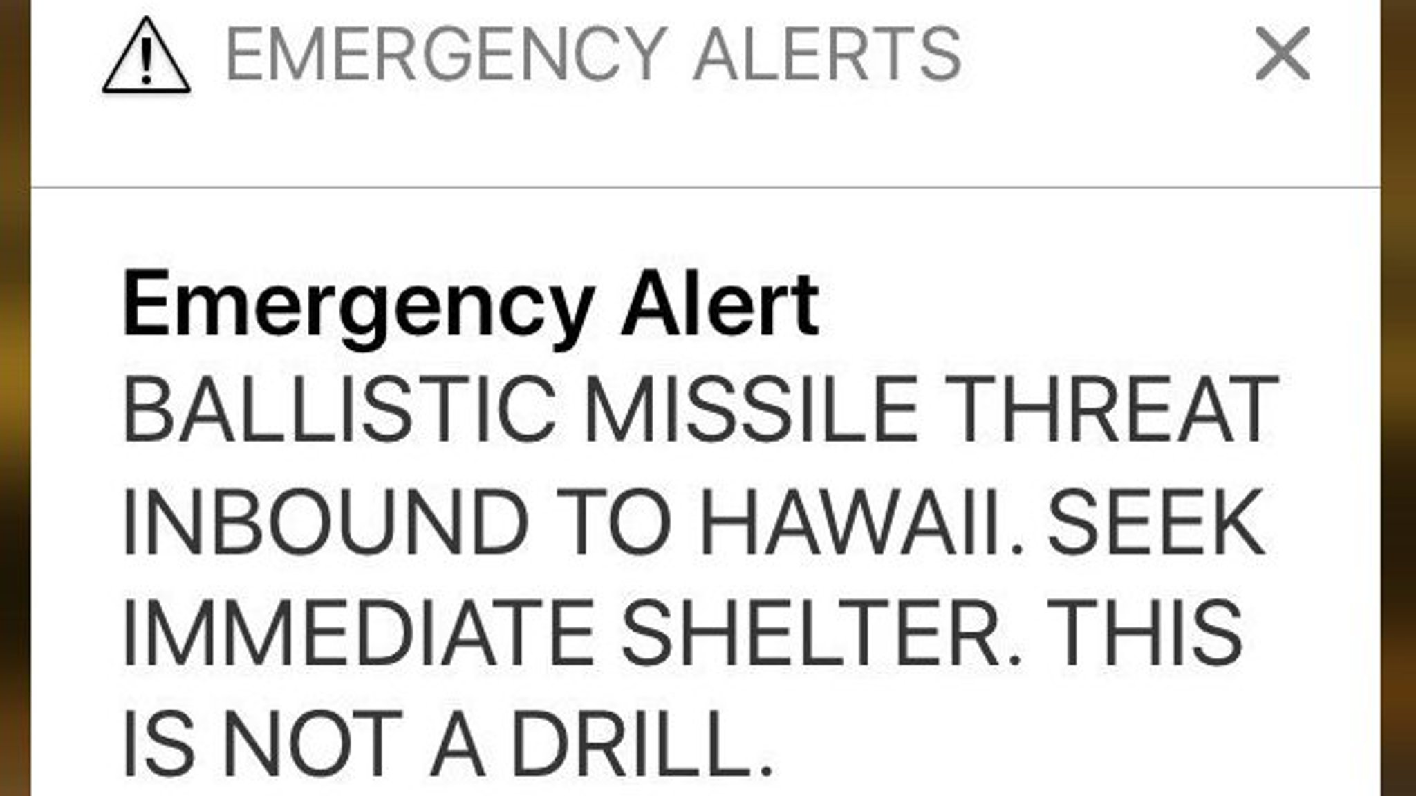 Hawaii officials spark panic with missile warning