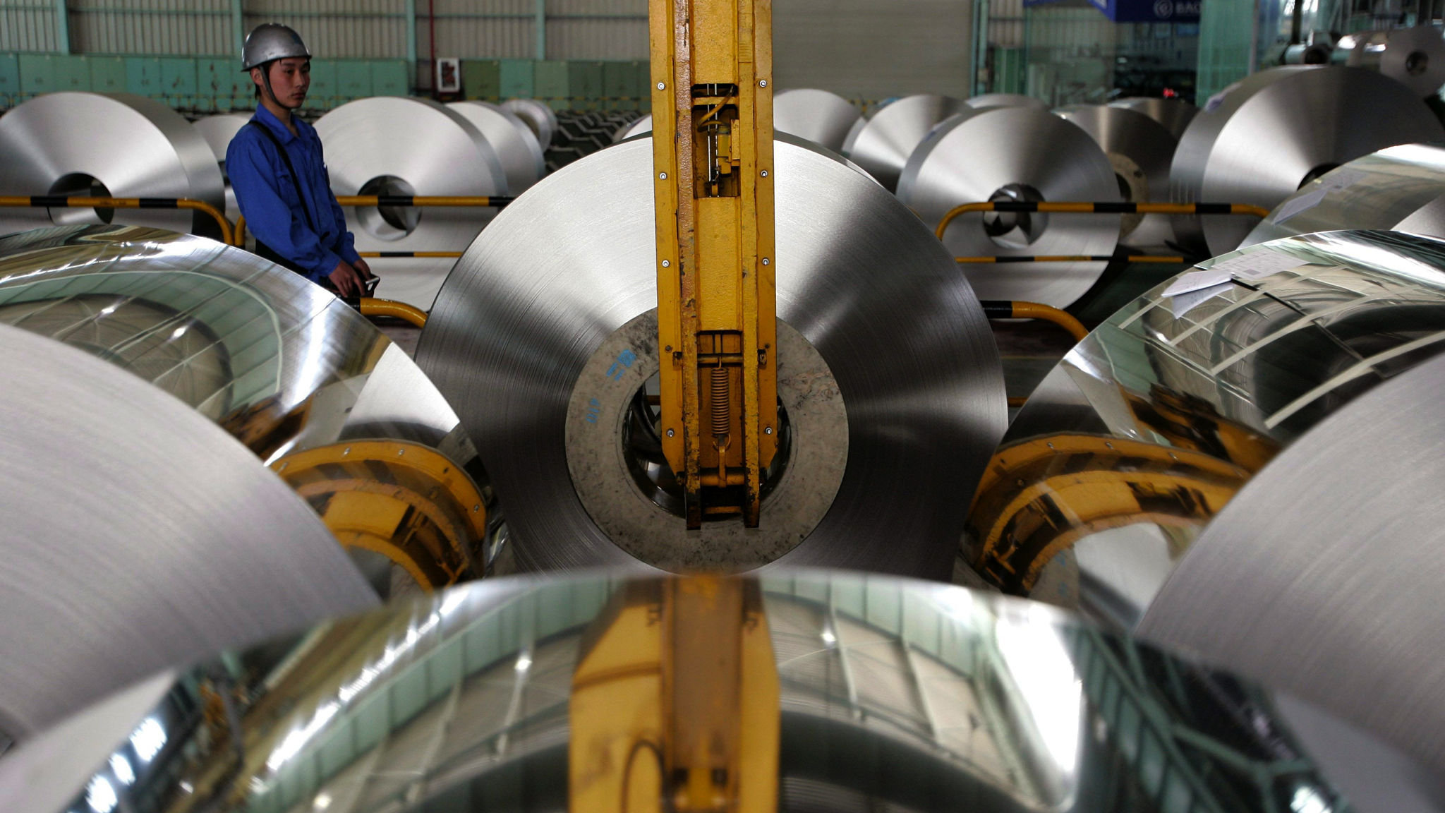 Chinese group sparks oversupply fears in steel market