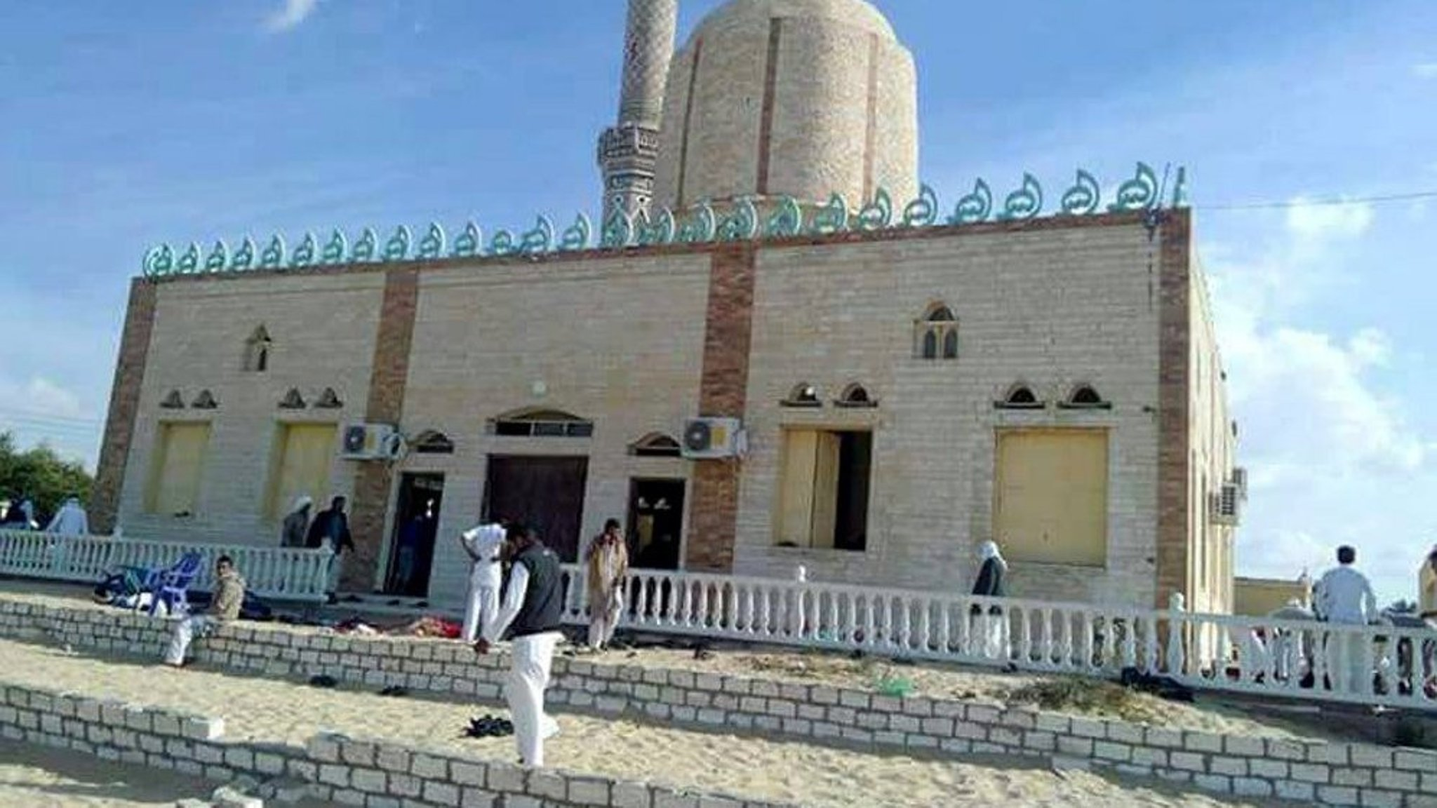 image when Death toll from Egypt mosque attack climbs to 184