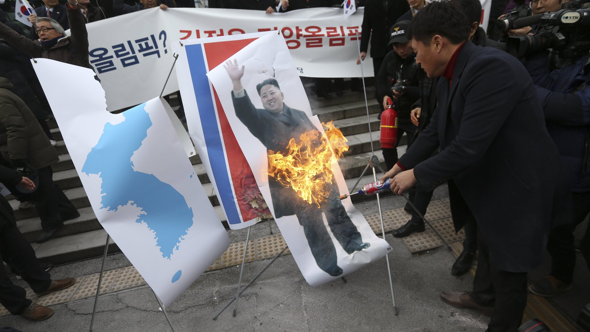 South Korea faces backlash over North's Olympic participation