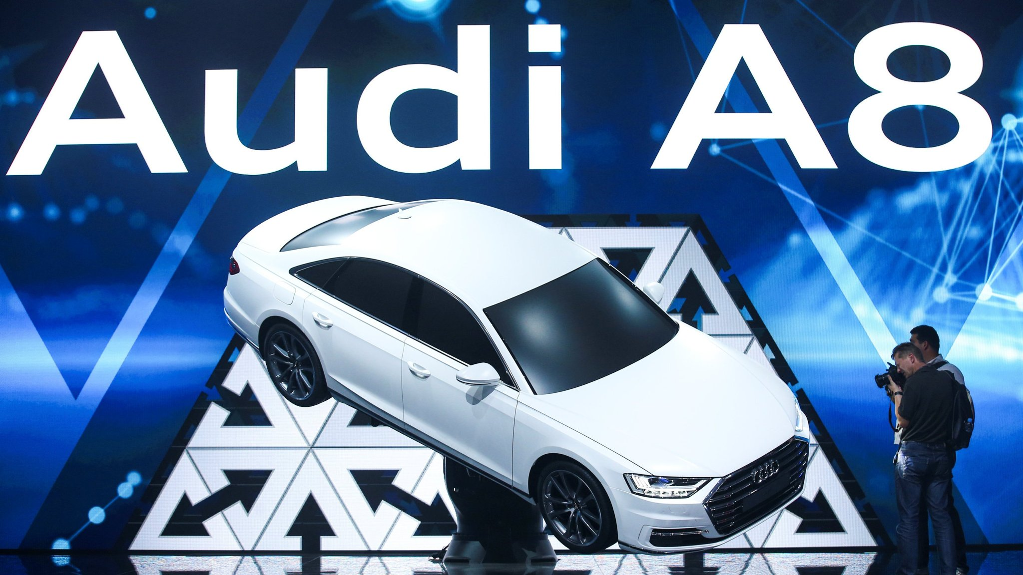 Audi Launches Most Advanced Selfdriving Car Financial Times - Audi driverless car
