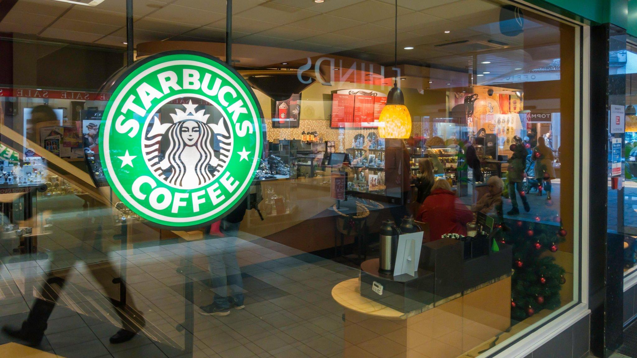 Starbucks' European unit paid 2 8% UK tax last year