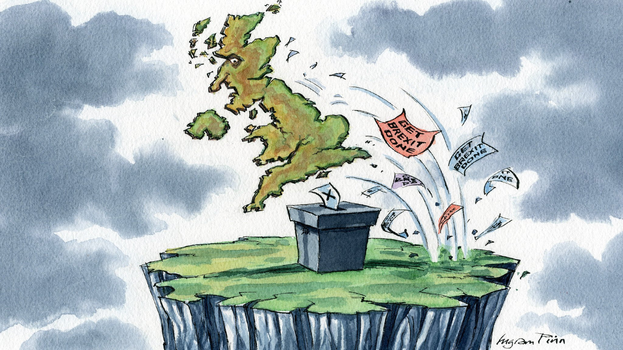 One thing is certain: Britain's election will not settle Brexit