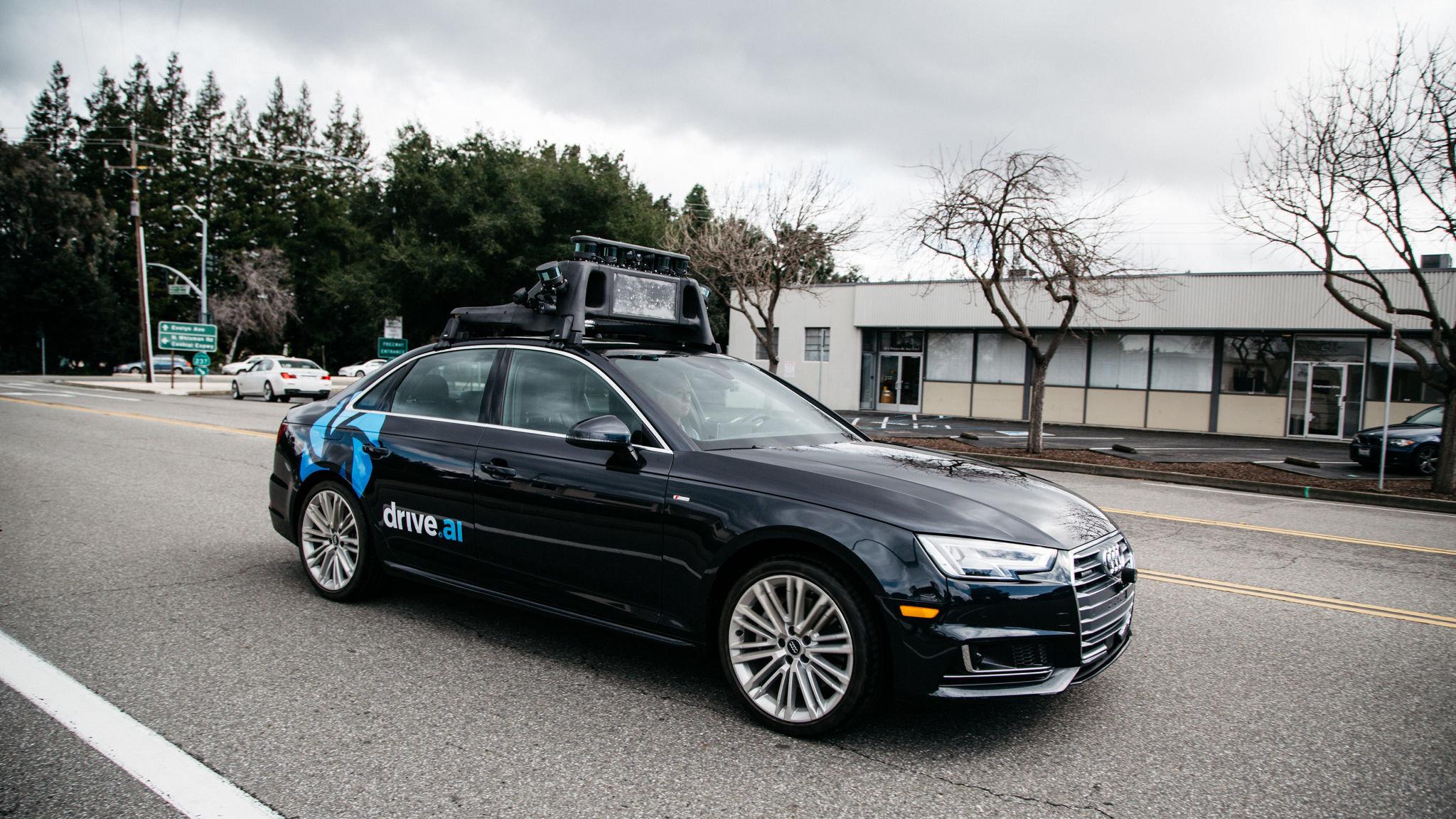 Apple buys autonomous vehicle start-up Drive.ai