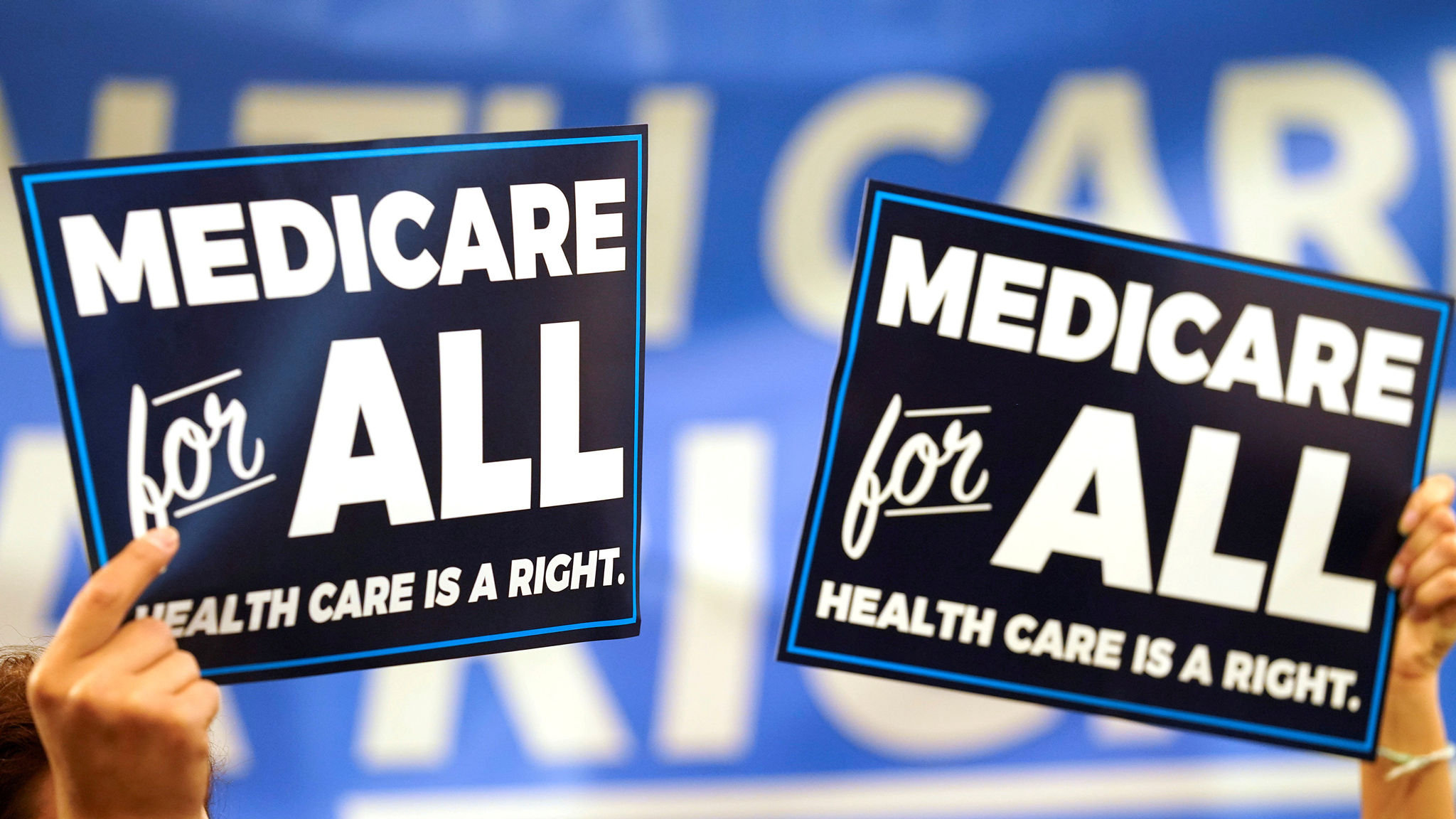 New Medicare Card 2020.Democrats In A Fever Over Universal Healthcare Pledges
