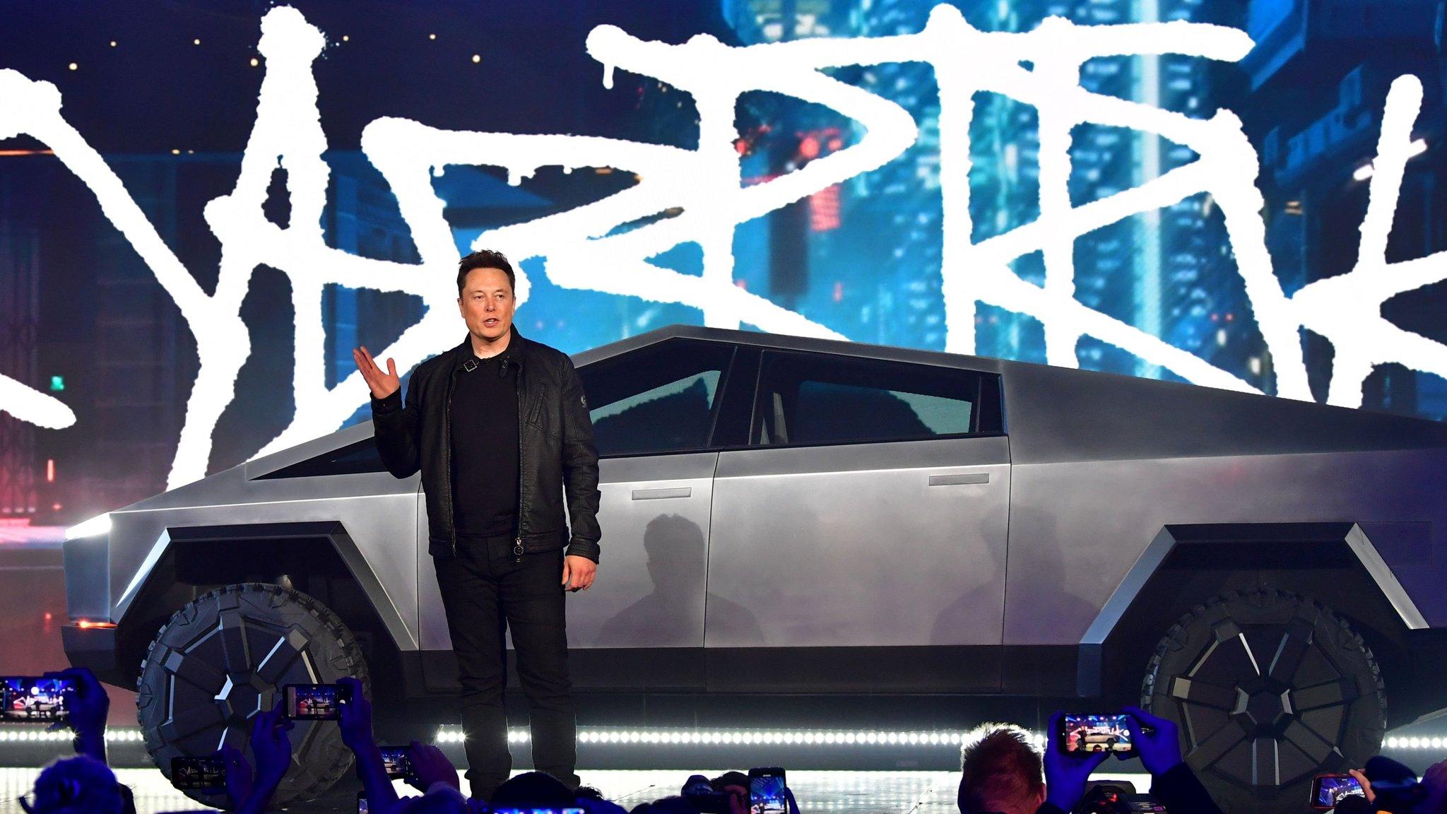 Tesla Unveils Bold Design For Cybertruck Financial Times