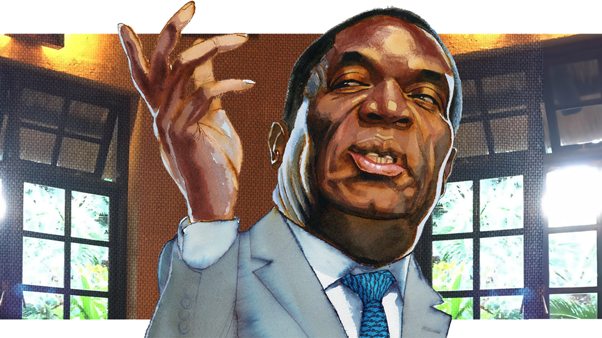 'I'm not a crocodile': Zimbabwe's president Emmerson Mnangagwa