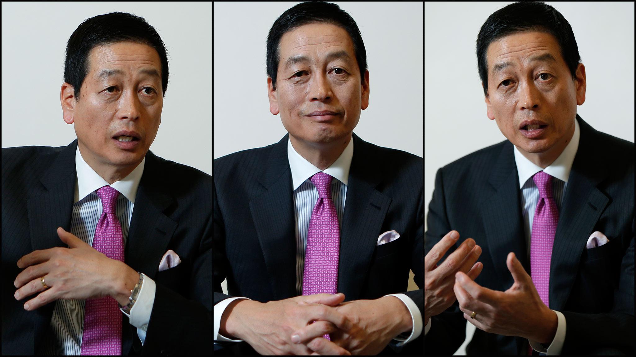 Masahiko Uotani, Shiseido CEO: from Coke to cosmetics