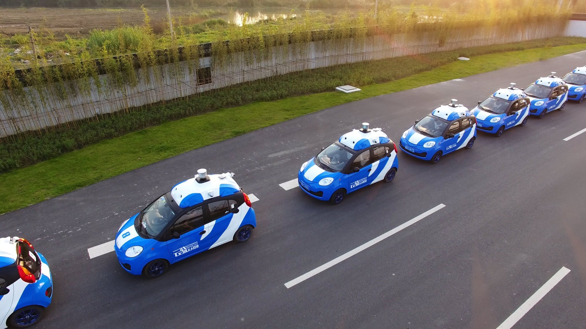 Baidu launches public road tests of autonomous cars in China