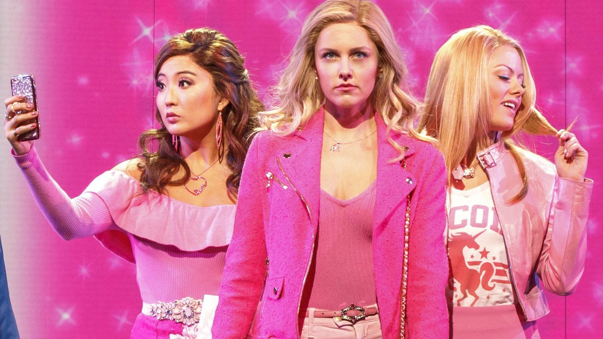 mean girls, august wilson theatre, new york — a deficit of nastiness