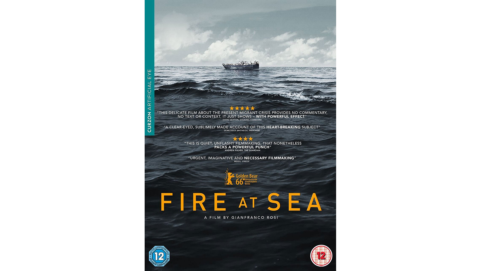 Fire at Sea — DVD review