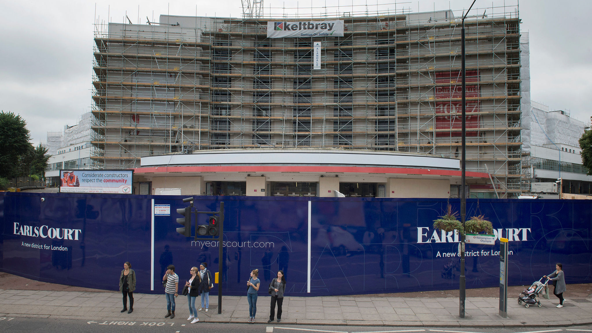 Capital & Counties to split in bid to contain Earl's Court