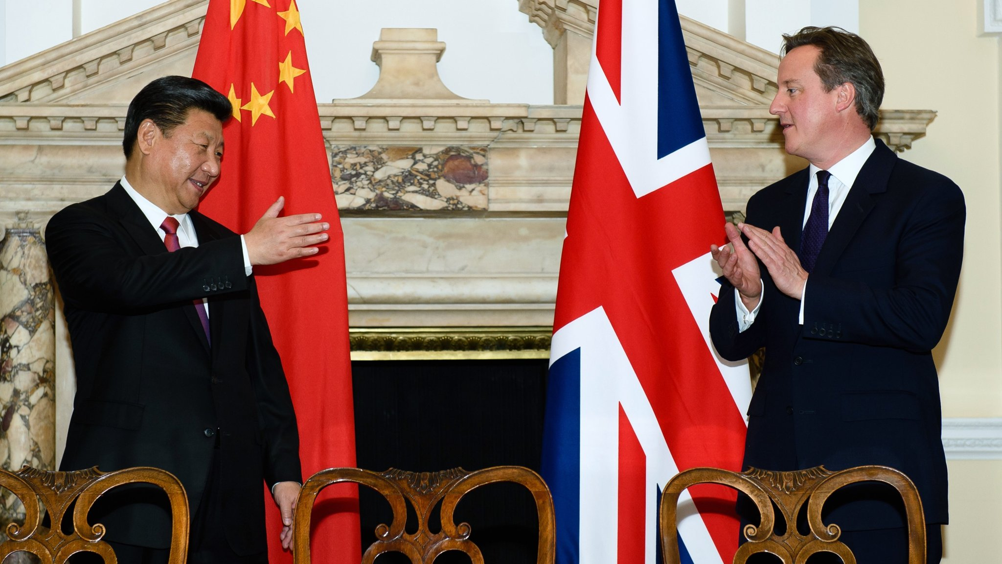 David Cameron rejects criticism on China relations