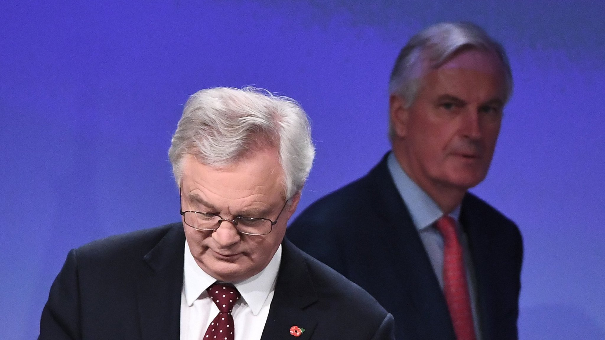 David Davis attacks EU's 'damaging' no-deal Brexit planning