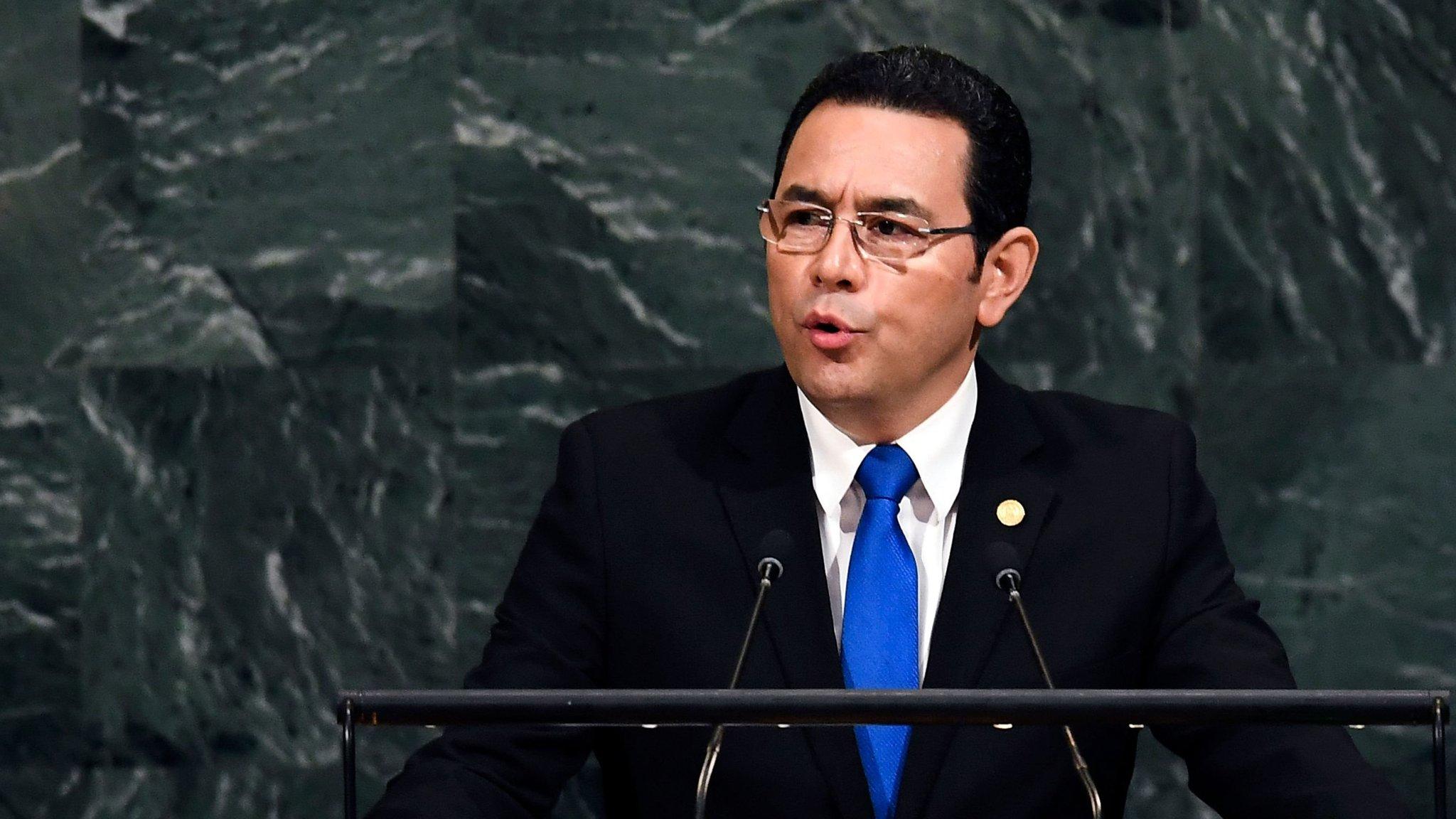 Guatemala joins US with Jerusalem embassy move
