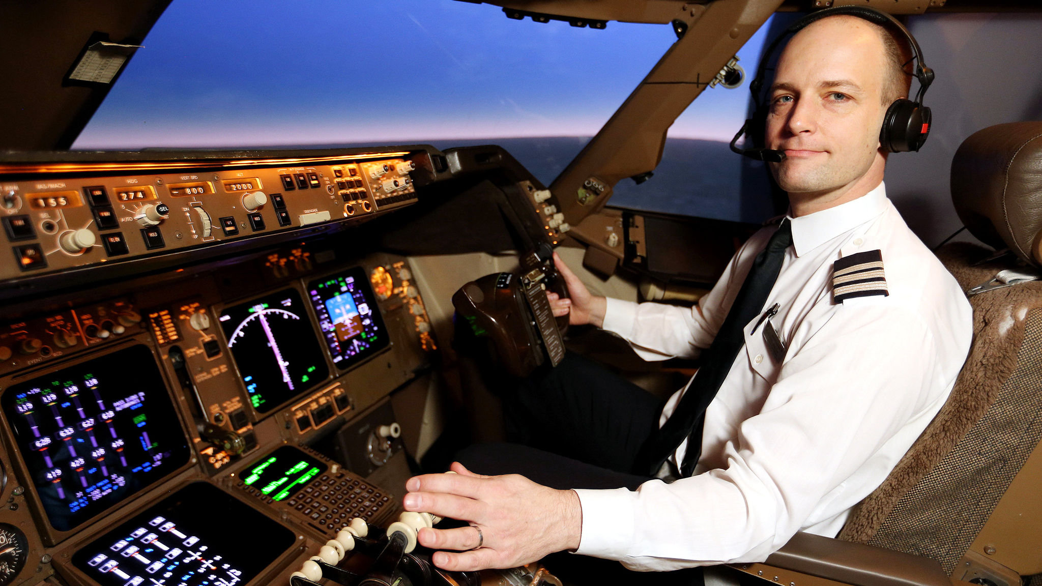 The captain's cabin: the secret suites where pilots sleep in