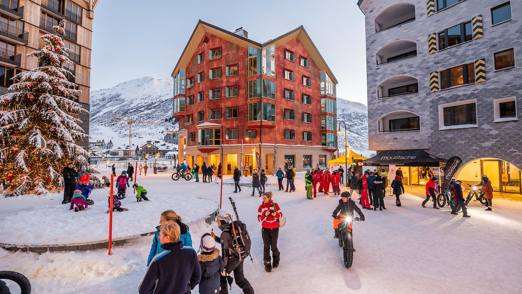 Welcome To Andermatt The Biggest Ski Development In The Alps Financial Times