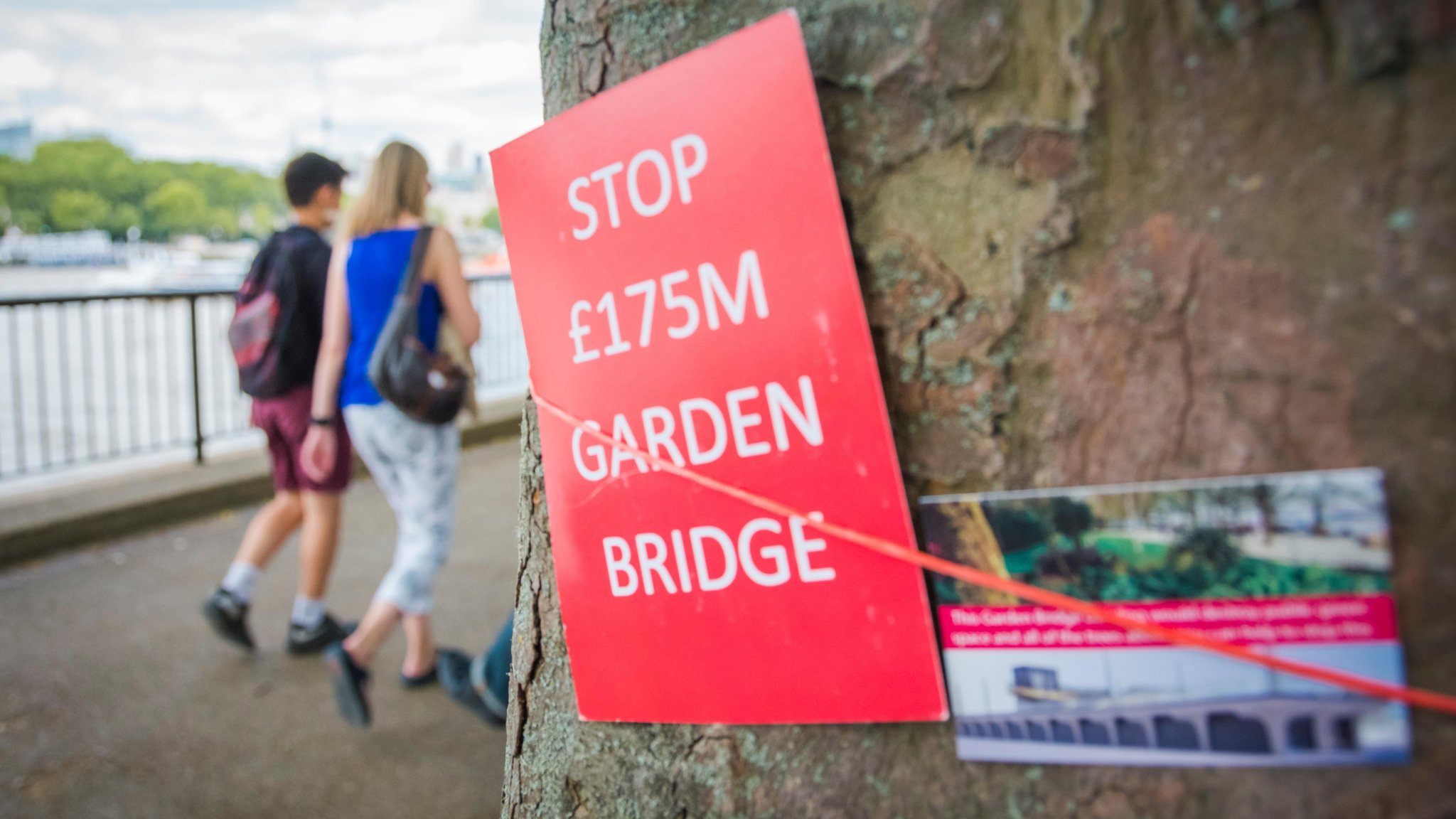 London Garden Bridge plans finally fall down
