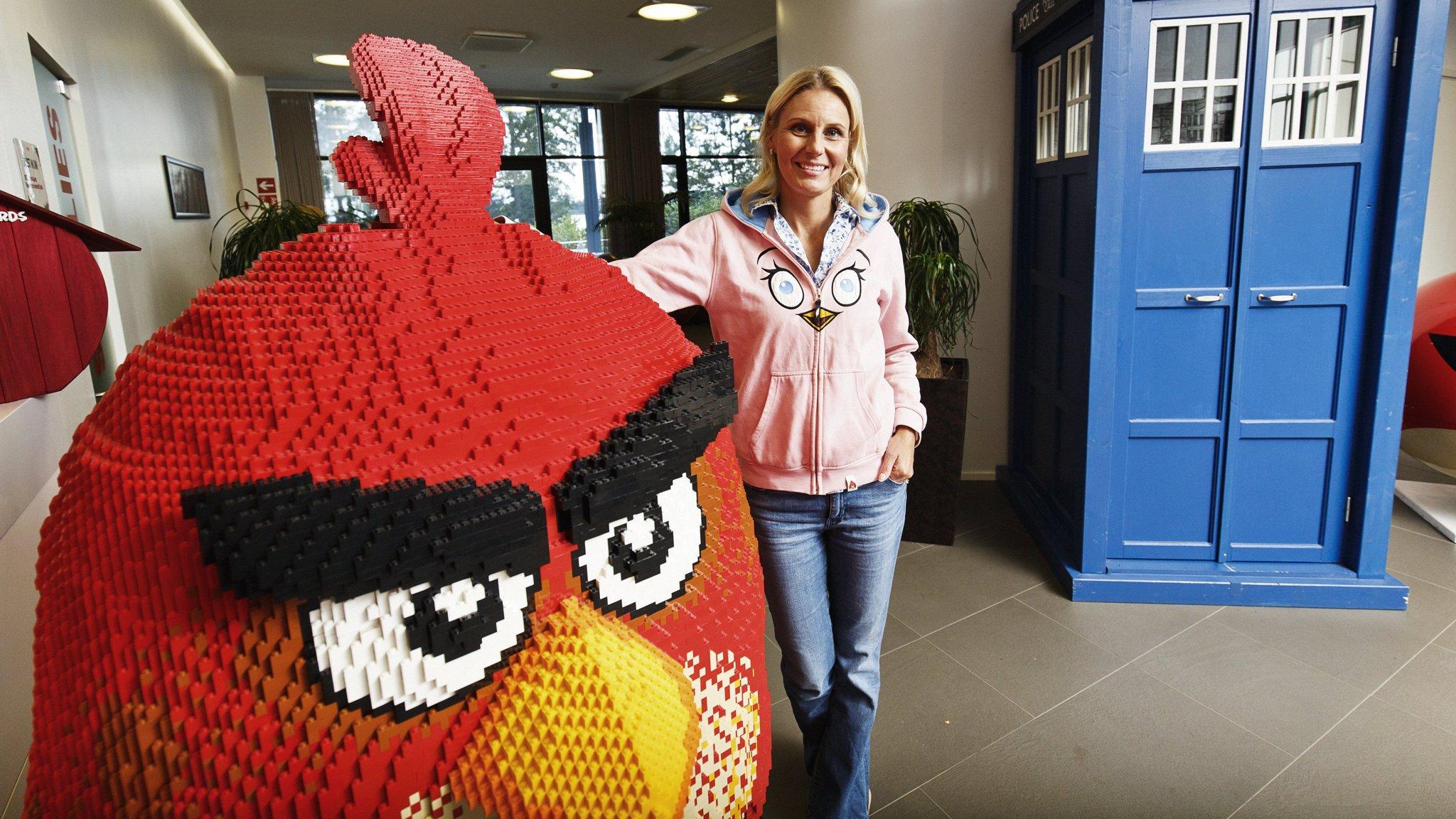 Angry Birds maker Rovio's shares plunge on third-quarter loss