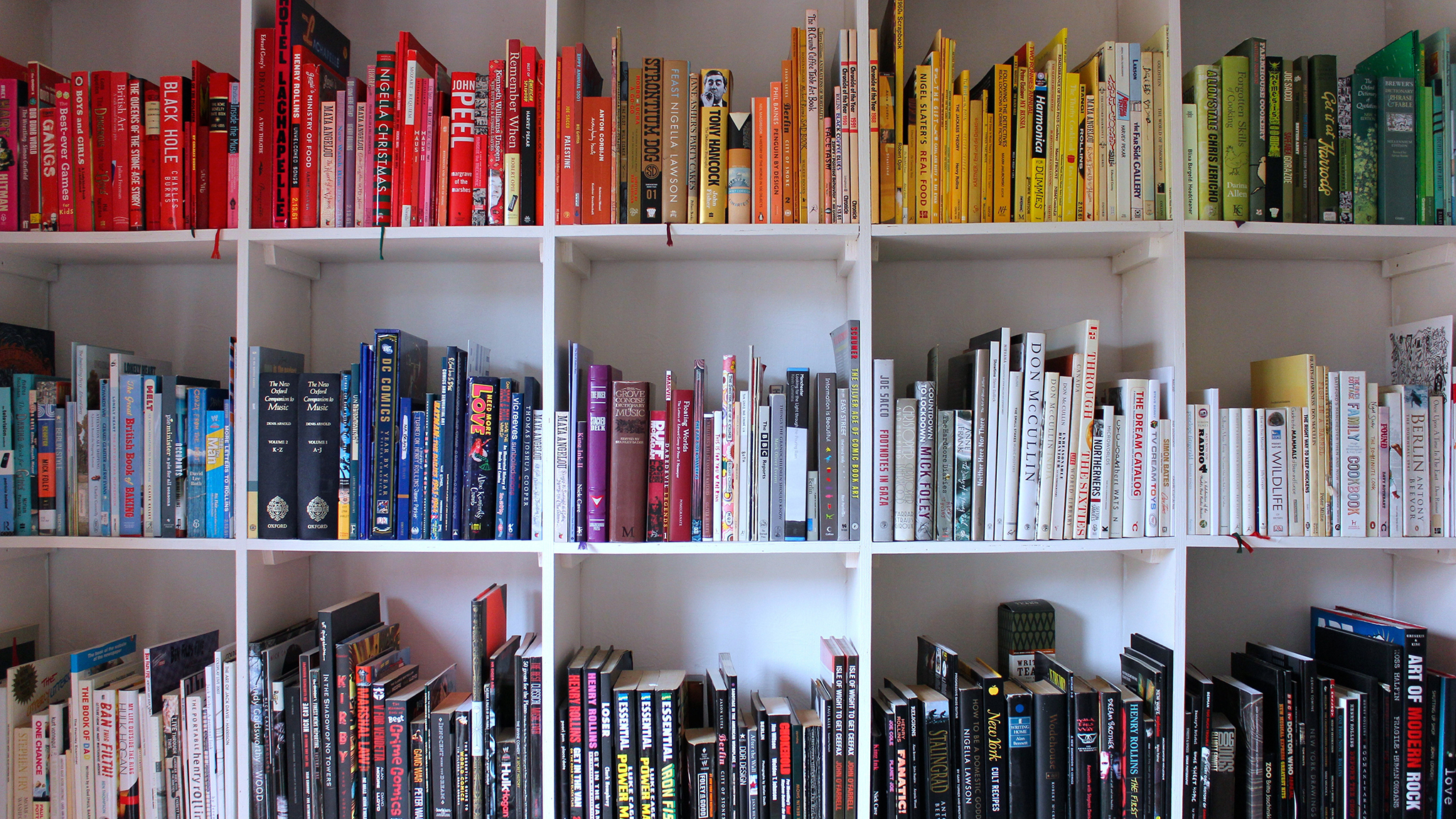 Here S How To Organise Bookshelves With Style Financial Times