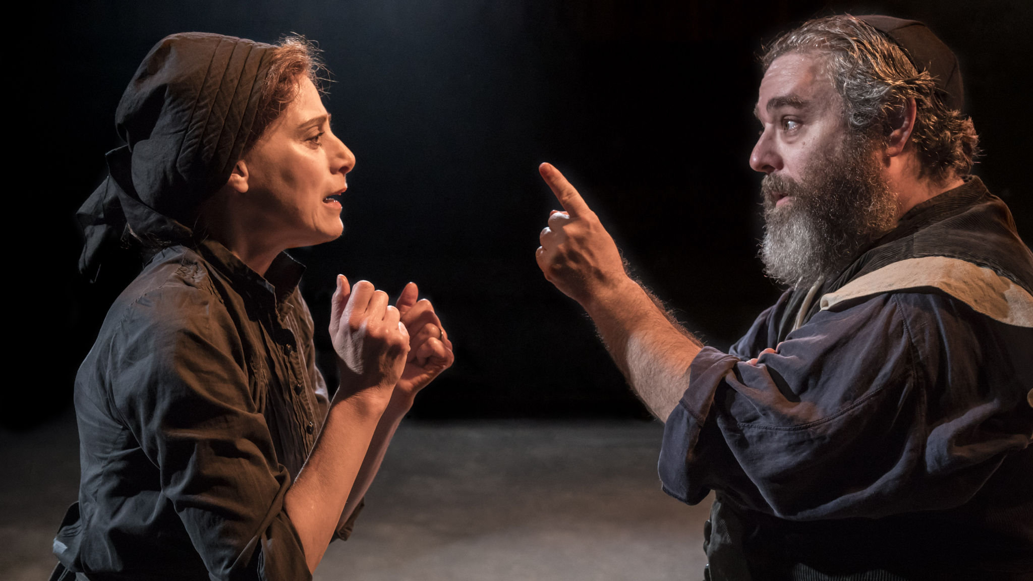 Fiddler on the Roof at the Menier Chocolate Factory, London