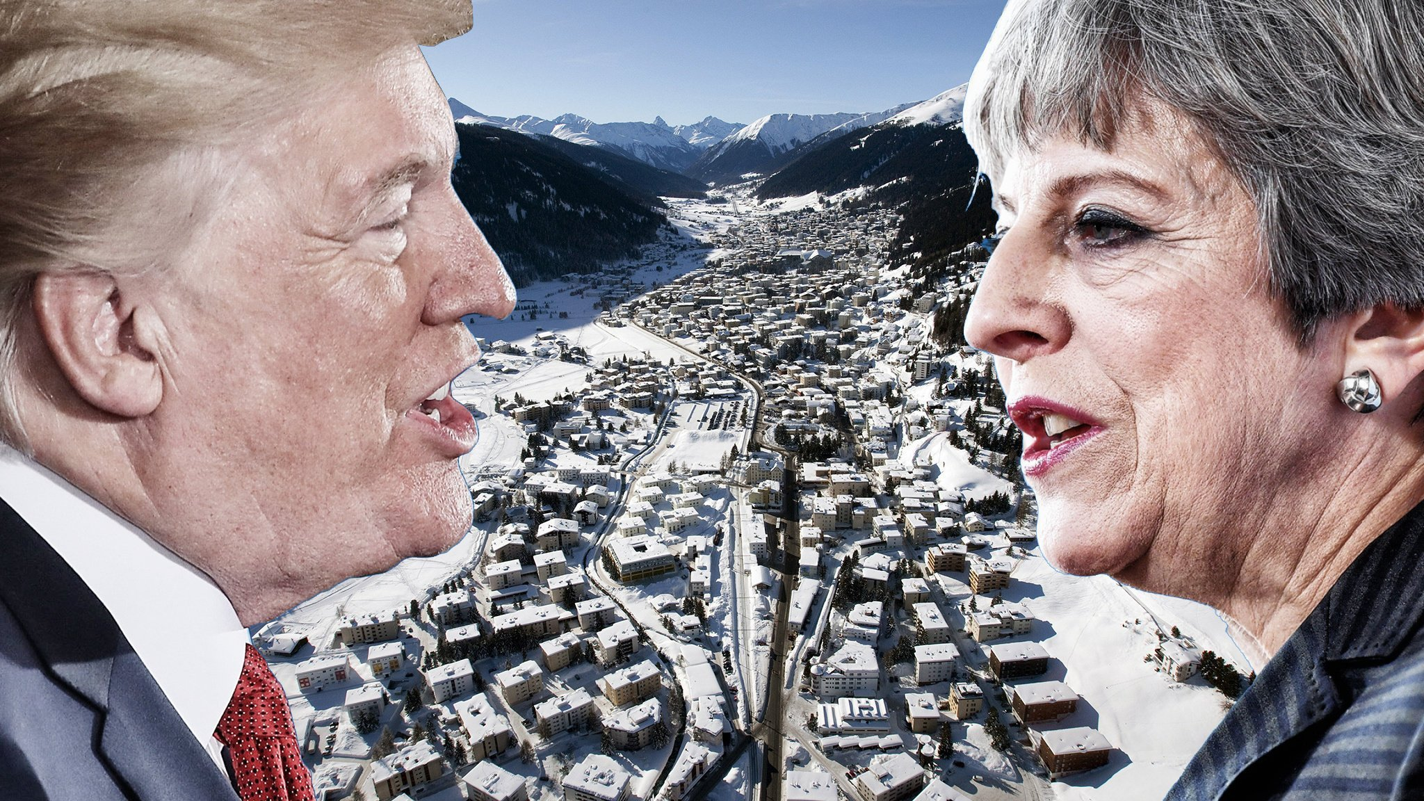 Donald Trump, Davos and the special relationship