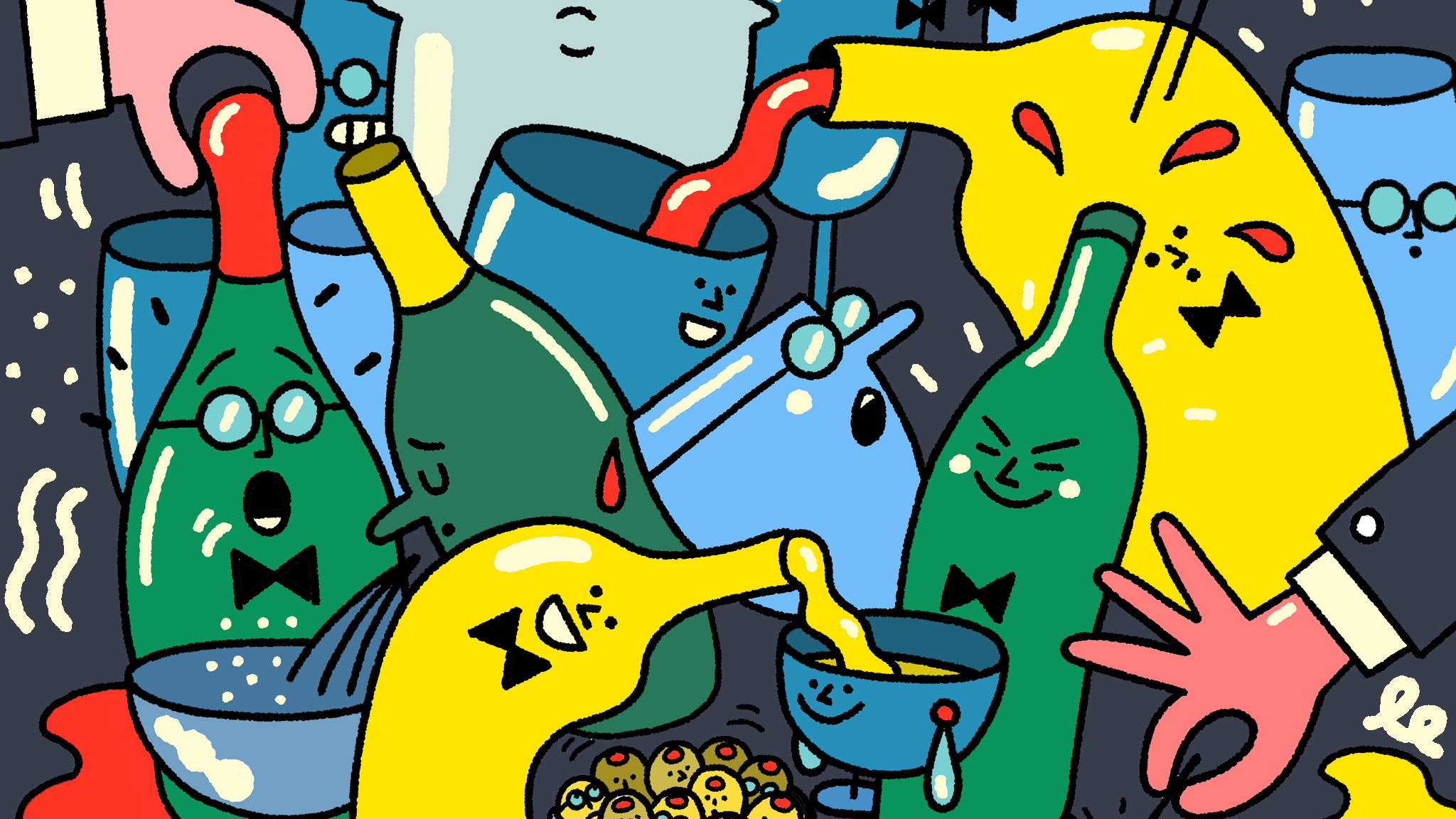 Jancis Robinson On The Wines To Serve At A Party Financial