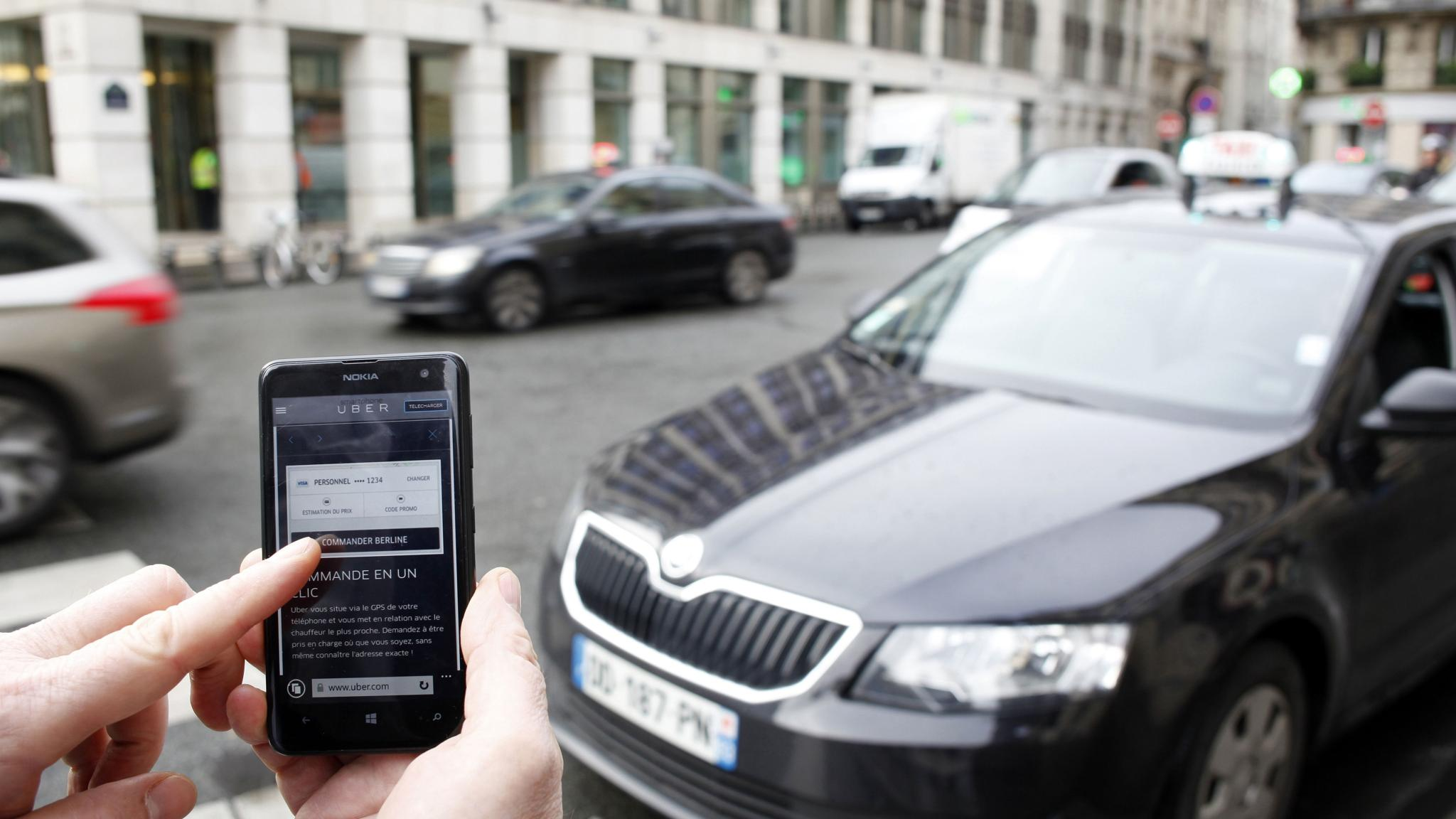 Boost for Uber as Brussels considers regulation of ride