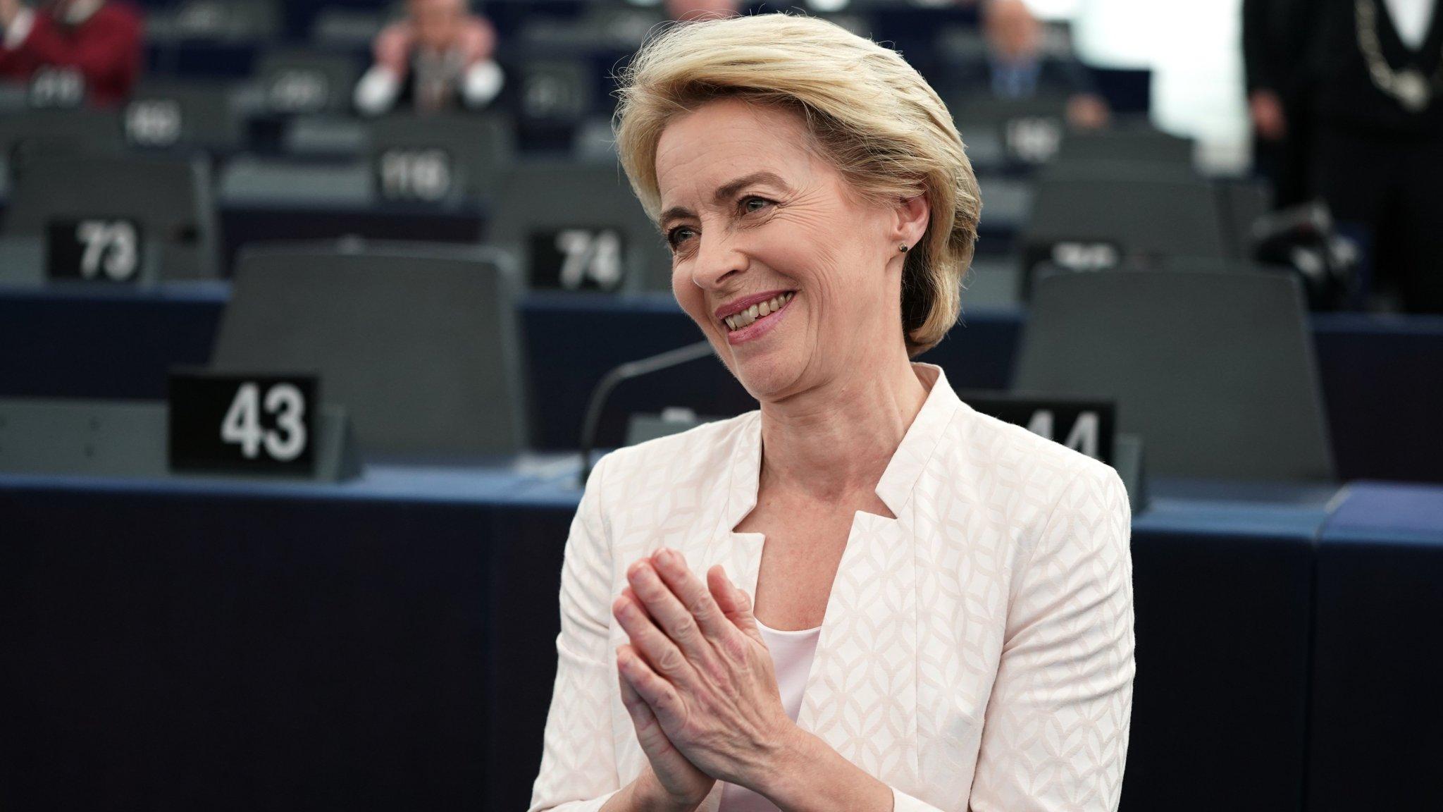 Ursula von der Leyen survives tight vote to win EU top job | Financial Times