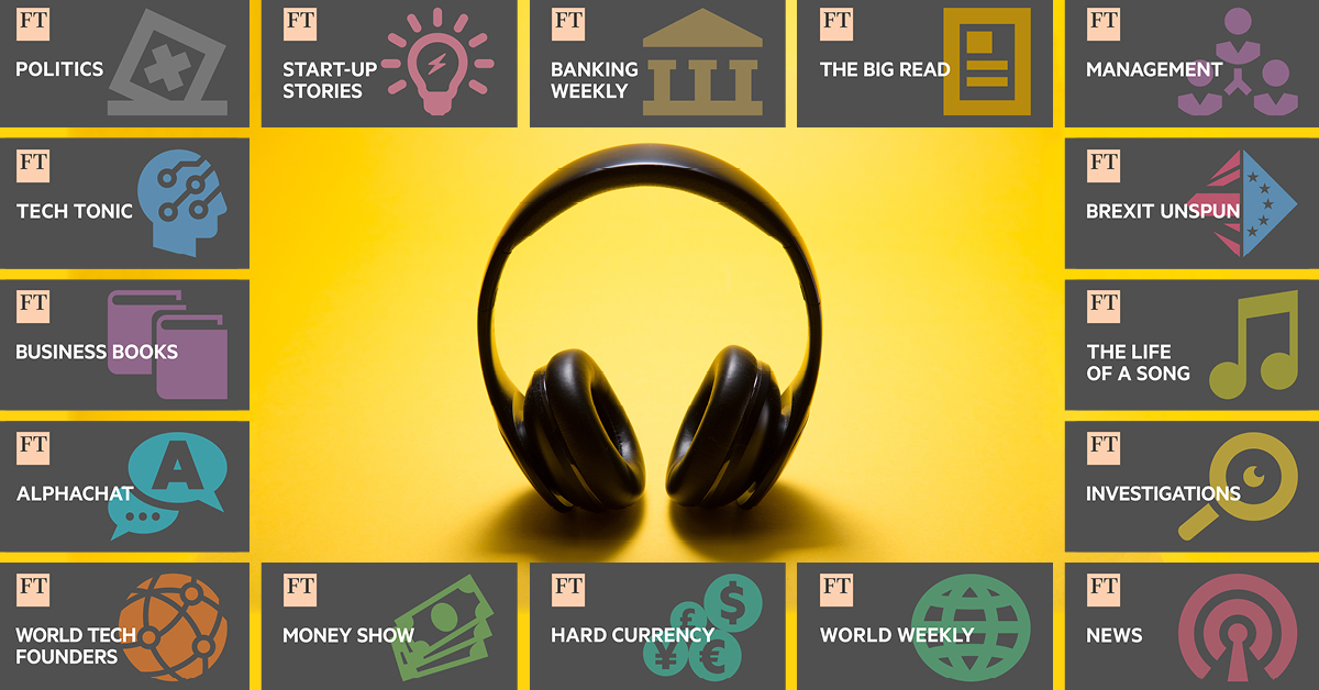 How to listen to Financial Times podcasts   Financial Times