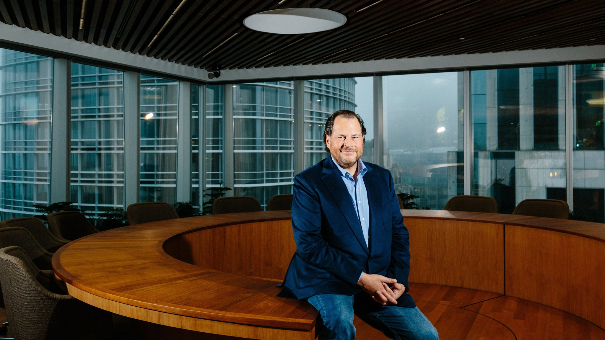Marc Benioff: taking on Silicon Valley's noxious culture