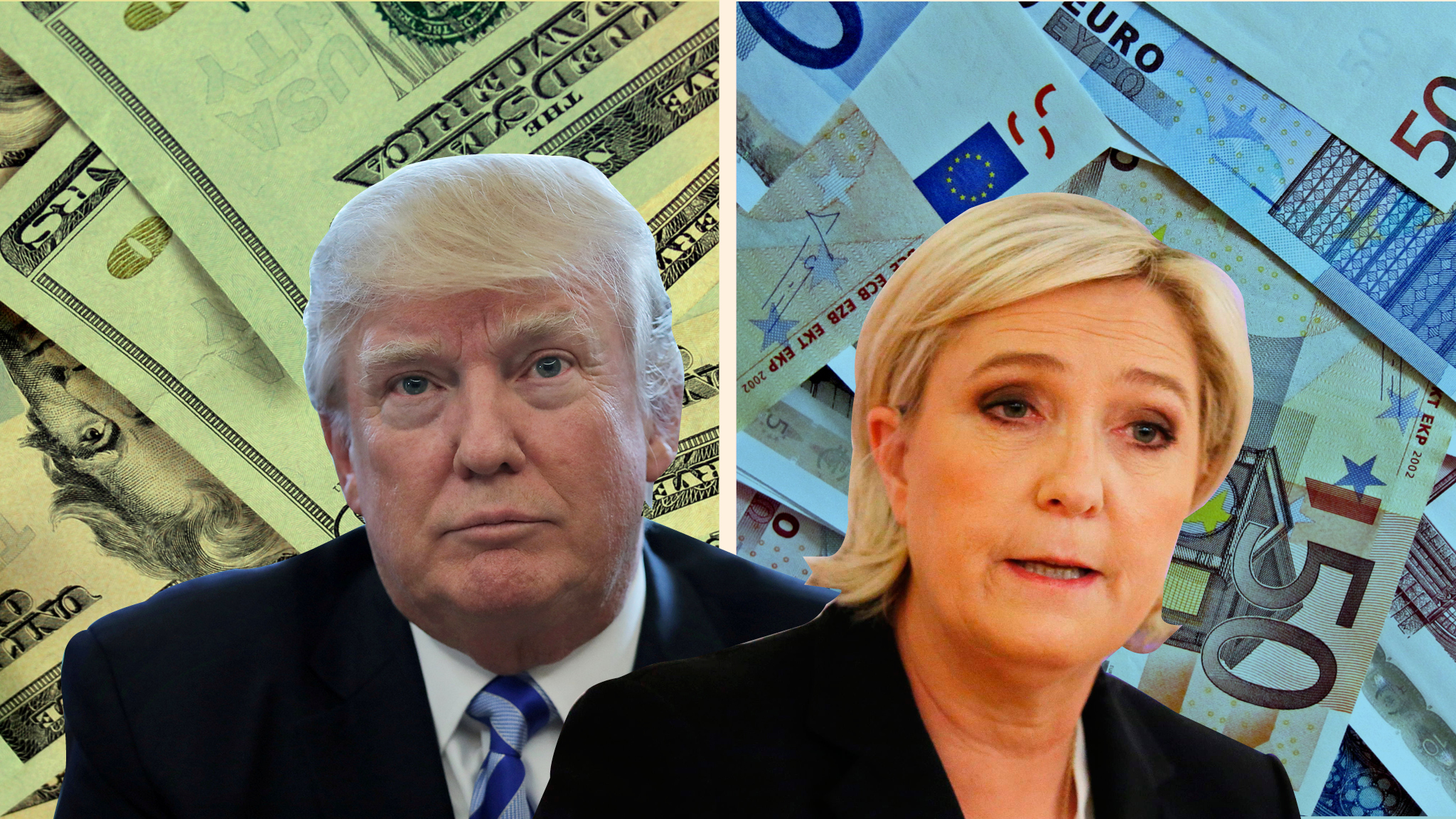 Image result for markets scared ahead of french elections