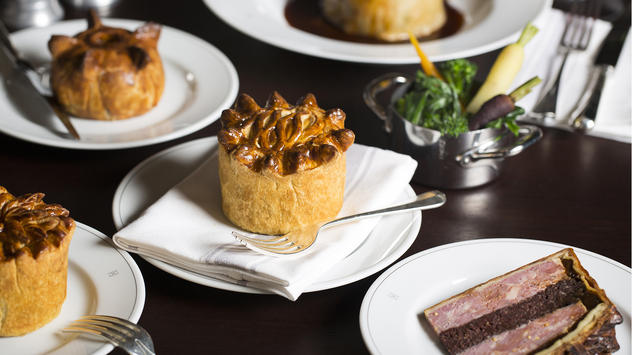 Holborn Dining Room, London — pies to die for