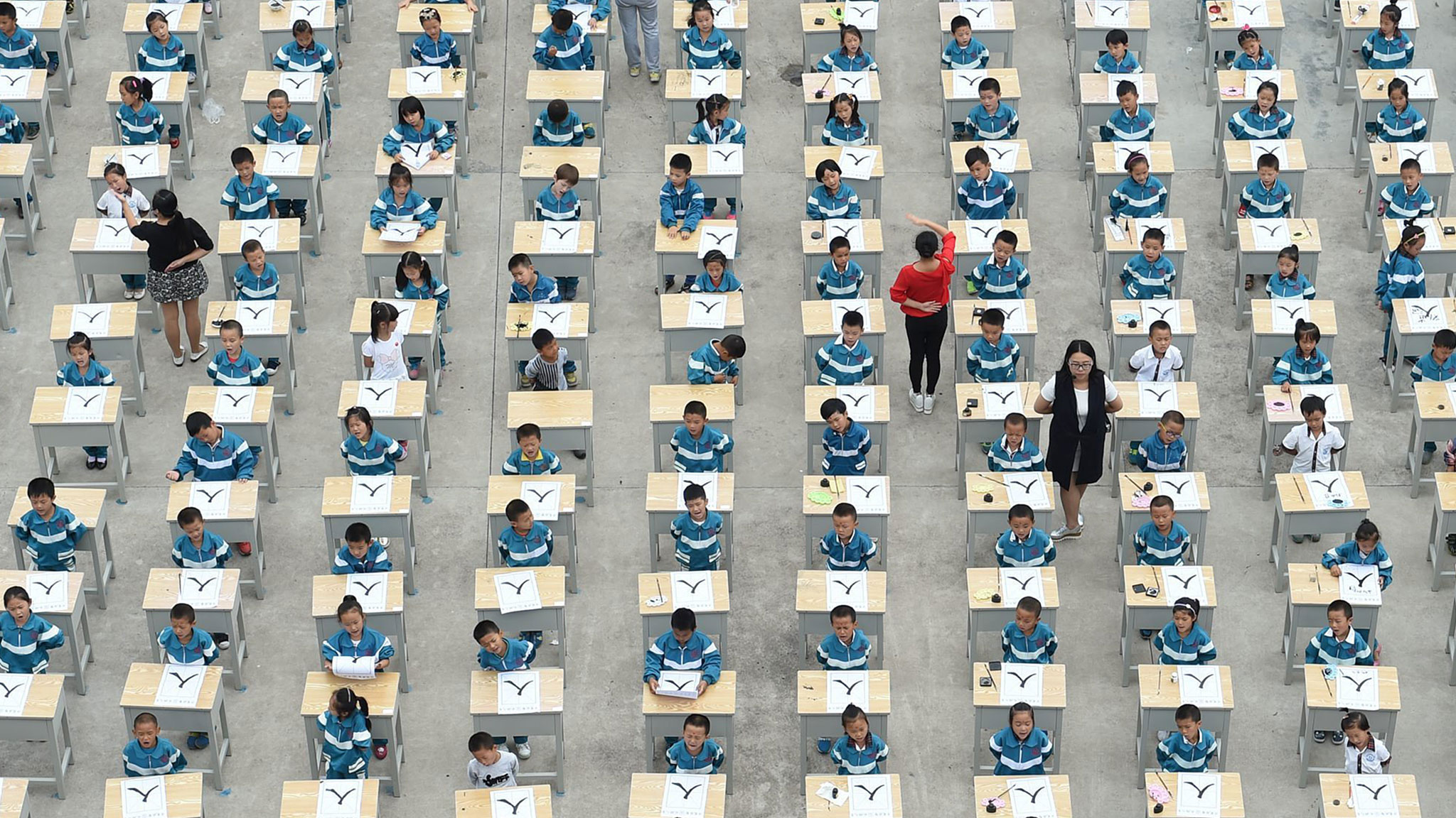 Why are schools in China looking west for lessons in