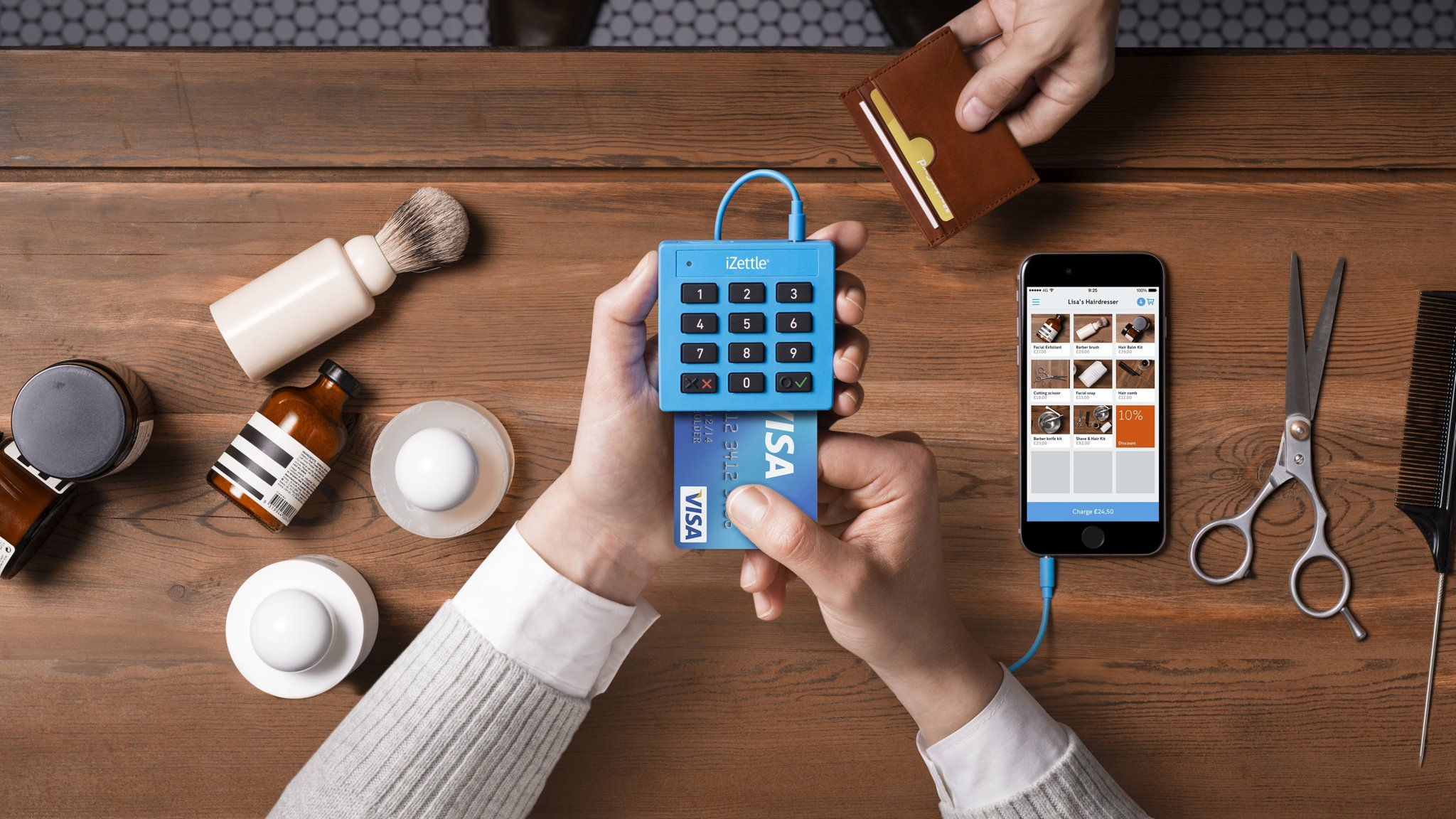 Swedish payments company izettle raises 60m on 500m valuation swedish payments company izettle raises 60m on 500m valuation financial times reheart Gallery