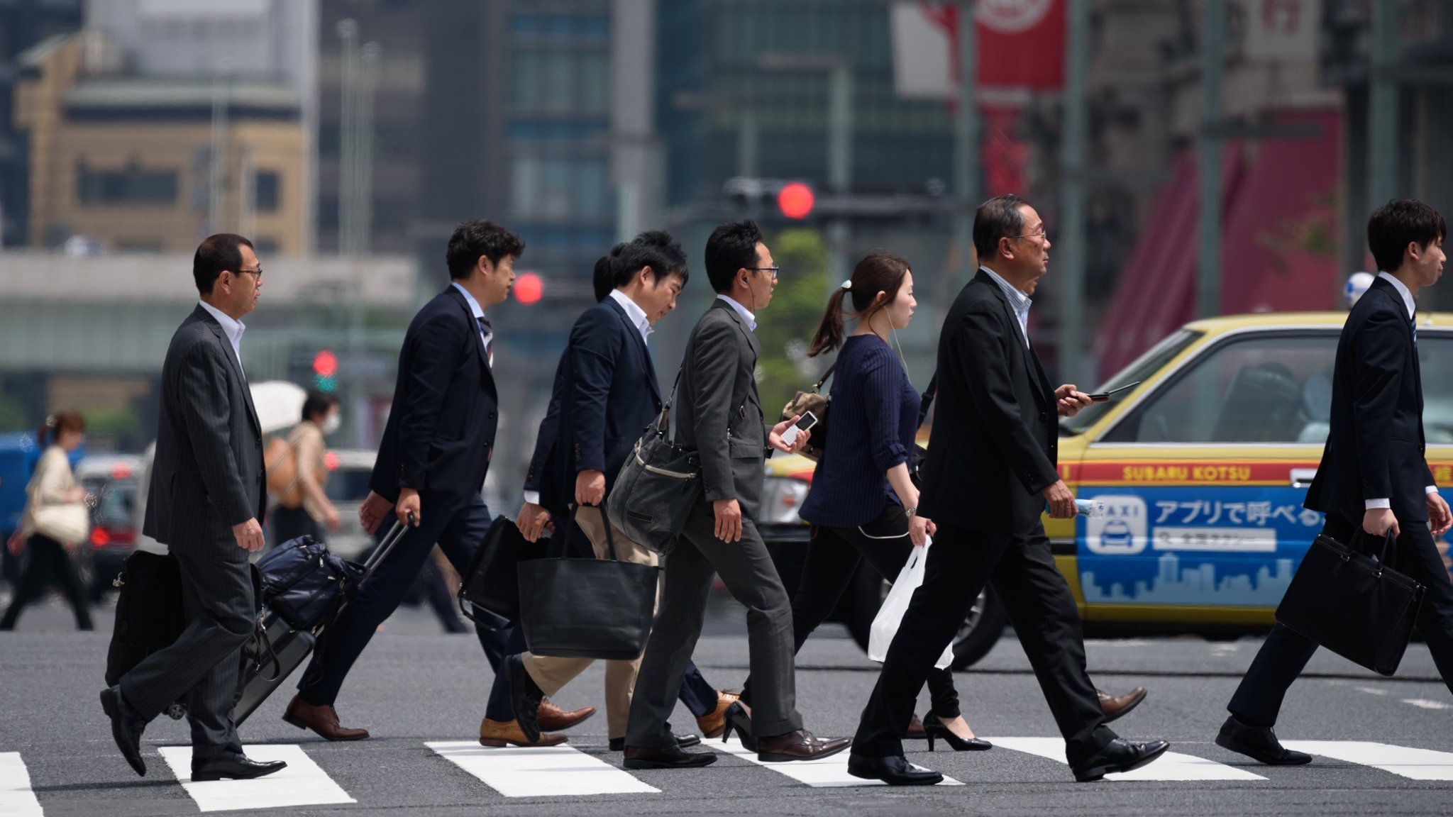 Unemployment in Japan hits 24-year low