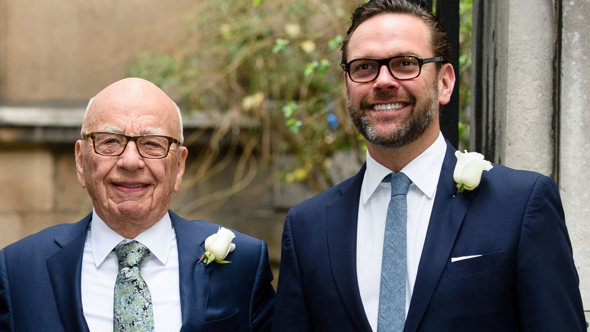 James Murdoch steps out from Rupert's shadow