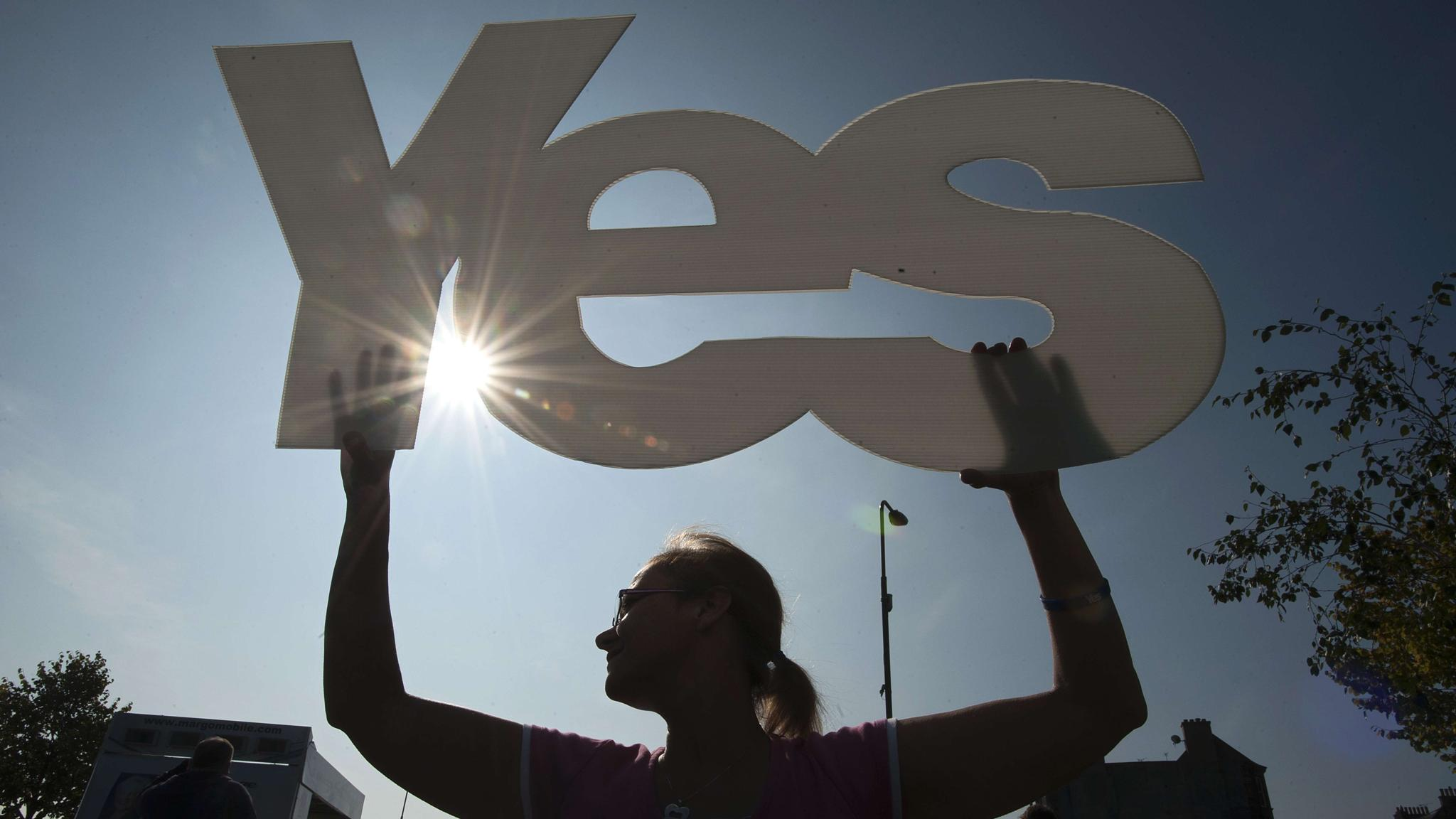 Whitehall prepares should Yes camp win