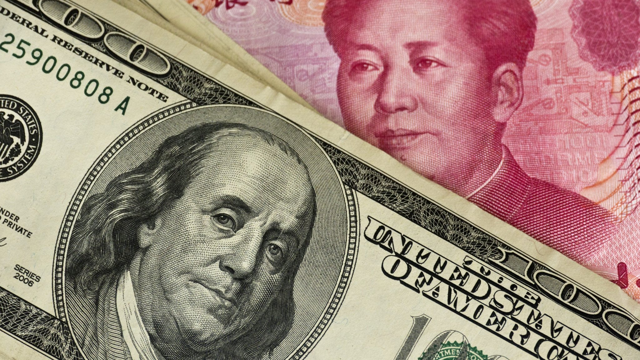 Investors dump risky assets as trade war flares