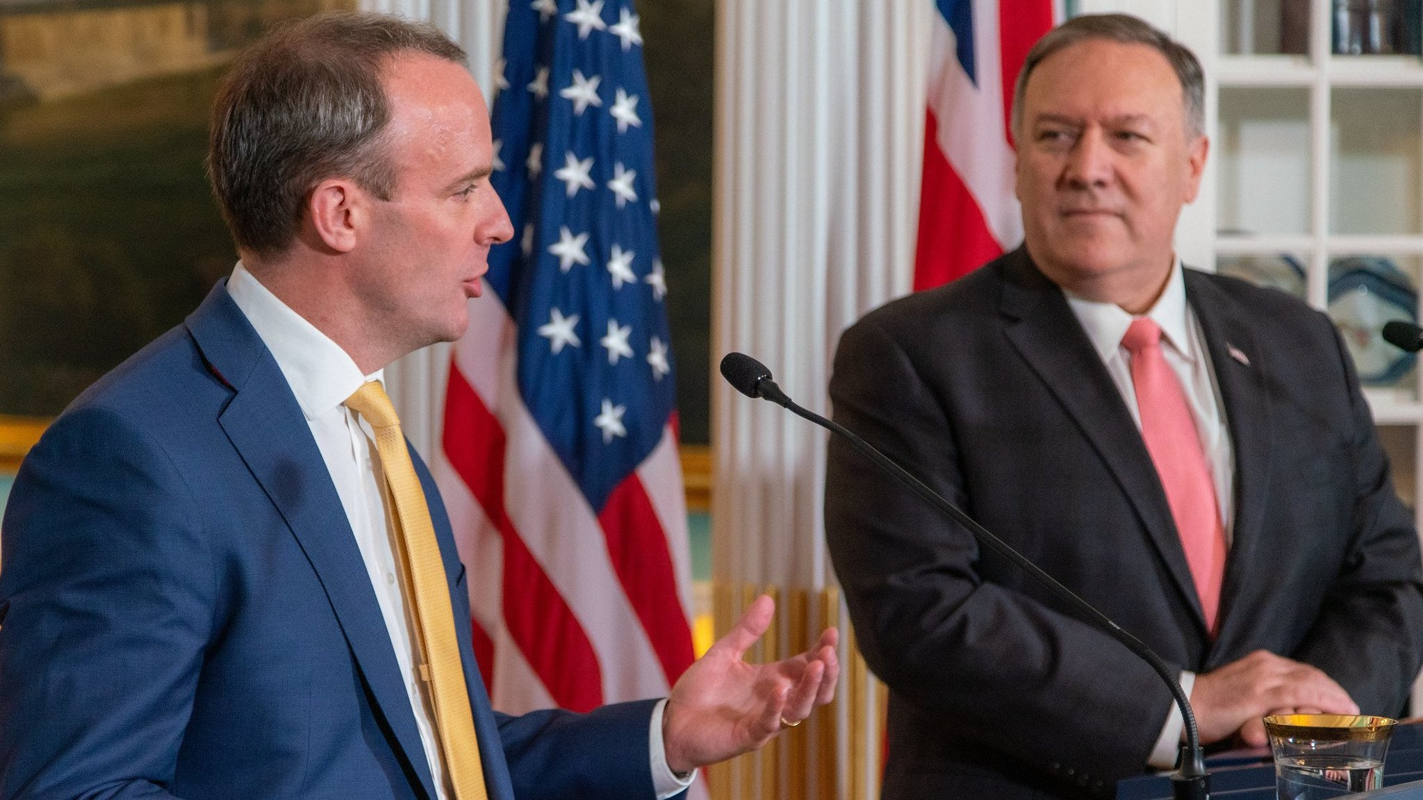 US is ready 'pen in hand' for trade deal with UK, says Mike Pompeo