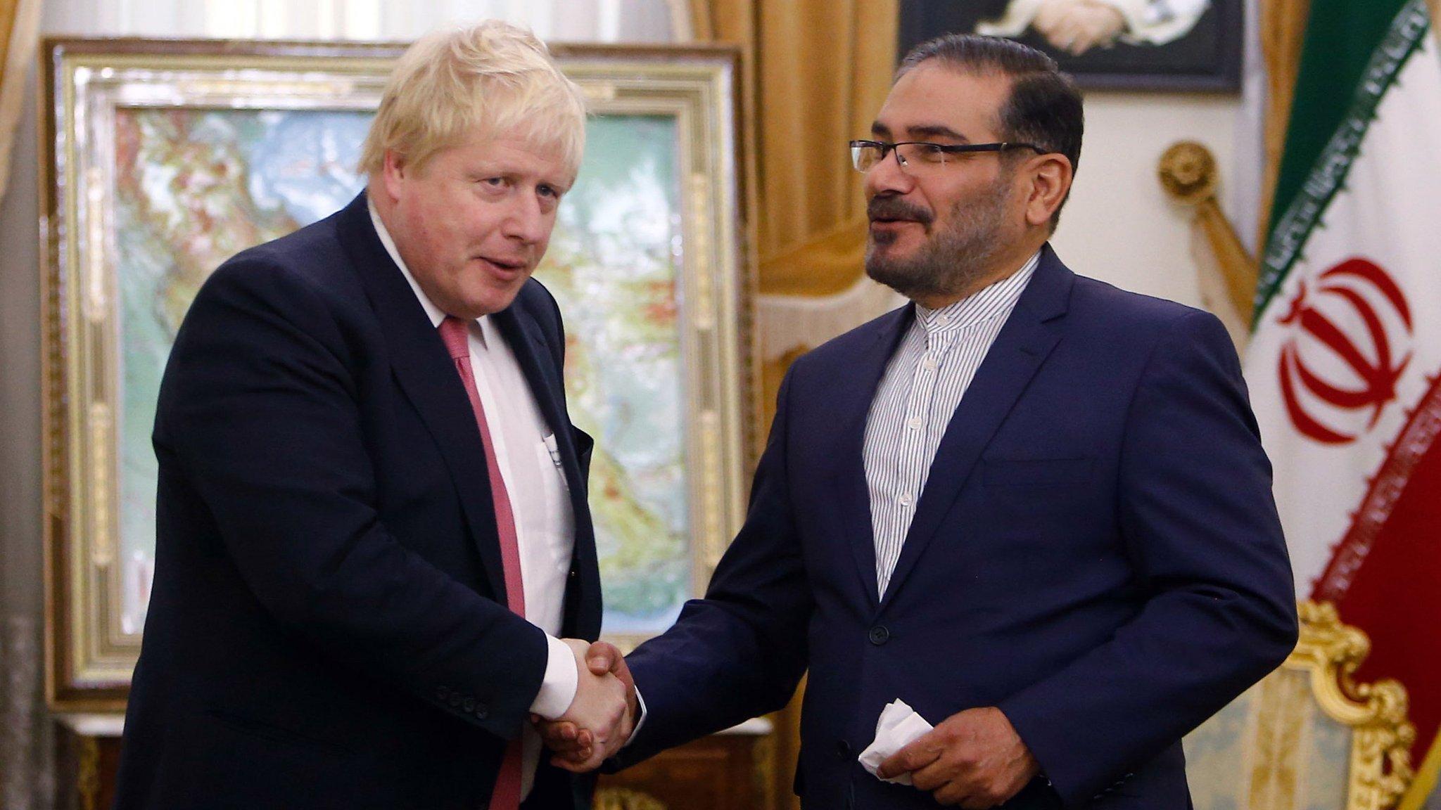 Boris Johnson holds 'frank' talks in Iran over jailed Briton
