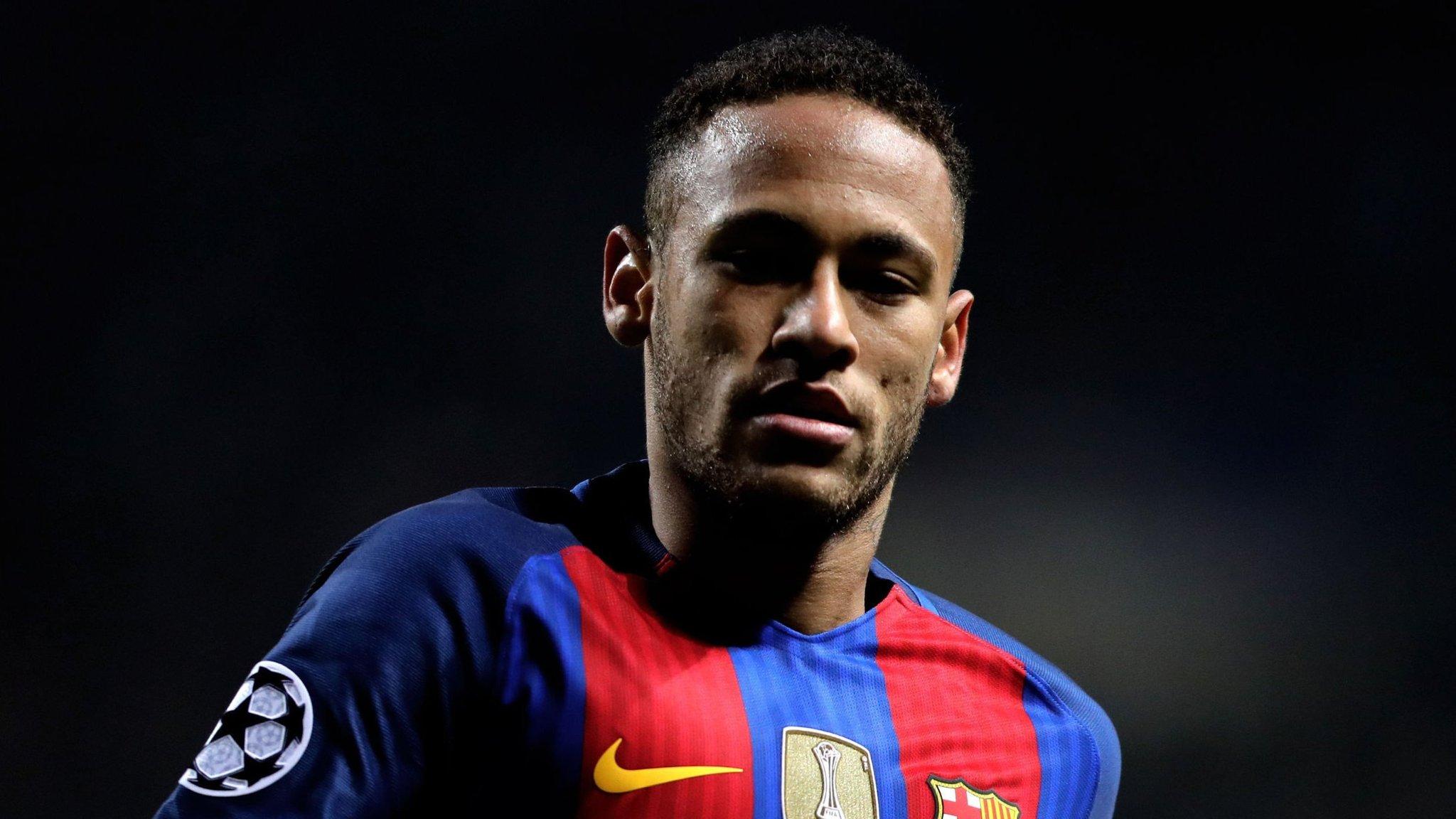 08a9939a23184 Neymar begins talks on record €222m transfer to Paris Saint-Germain ...