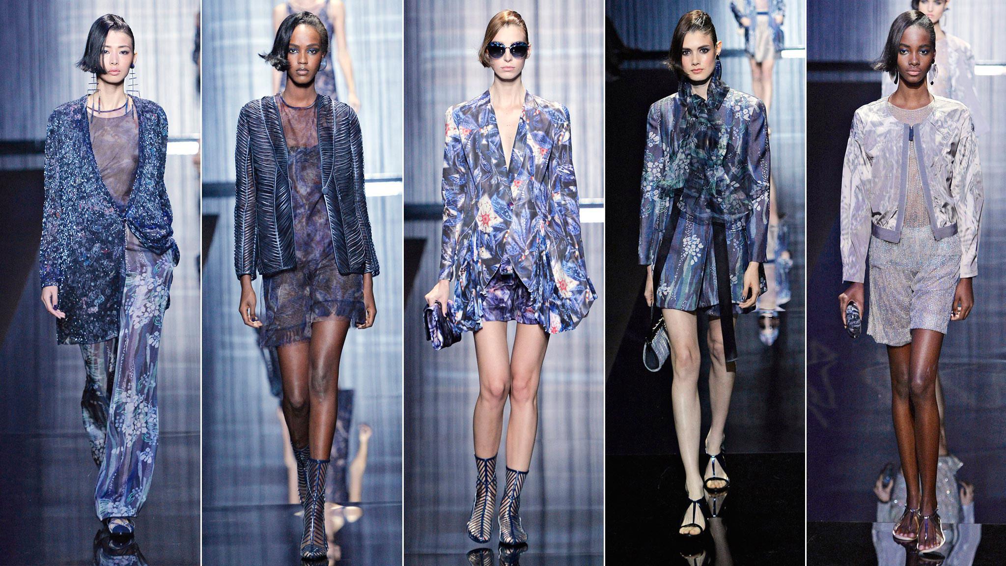 Giorgio Armani SS17 show report: Milan Fashion Week