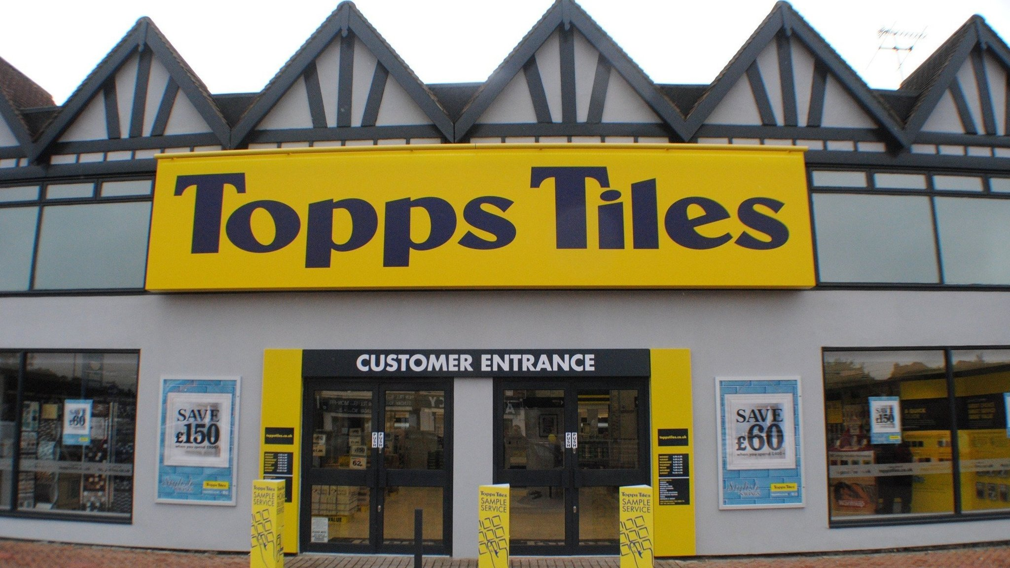 Topps tiles shares fall after warning over market conditions dailygadgetfo Images