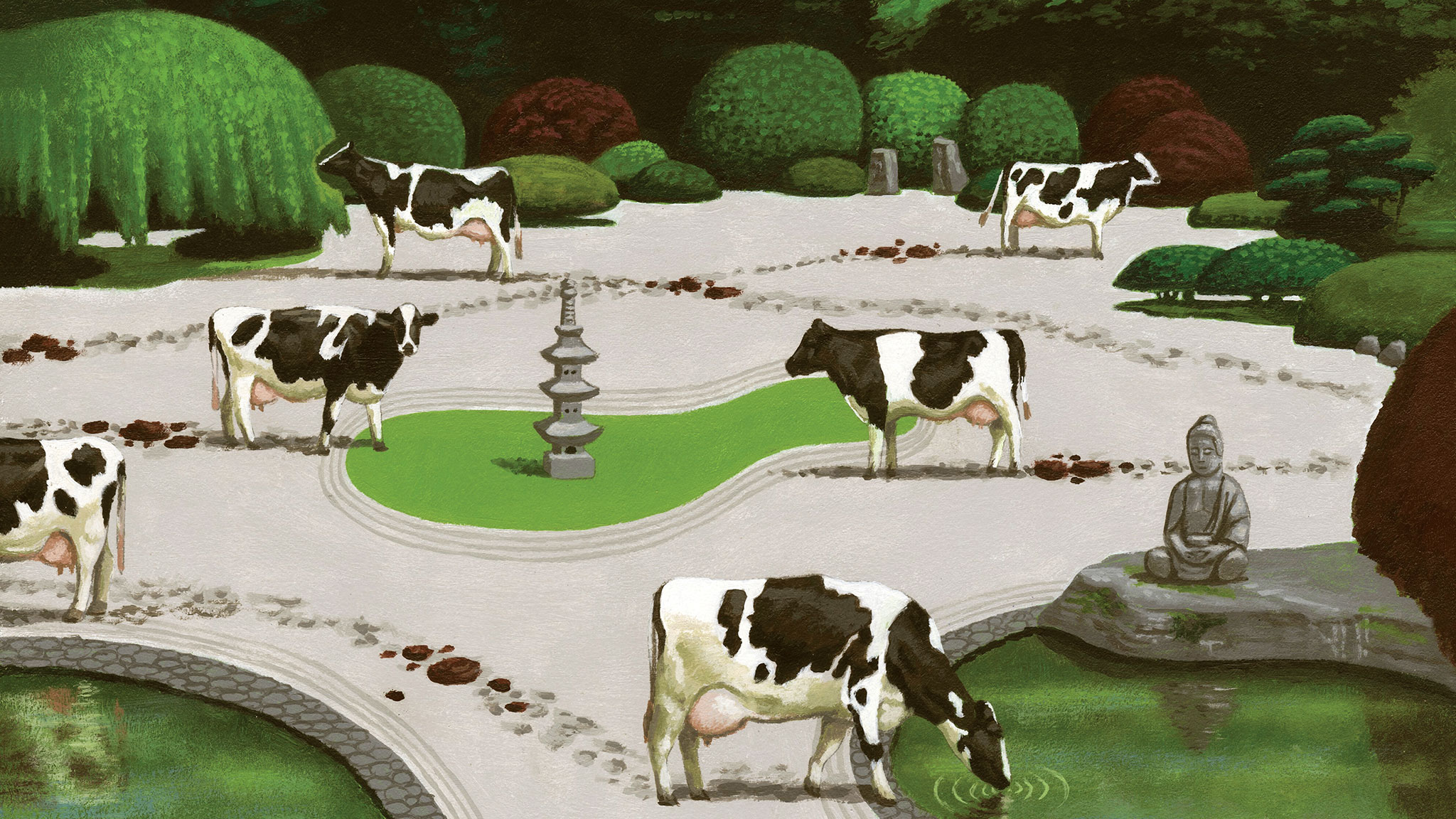 Property law: stray cows have ruined my garden  Who should