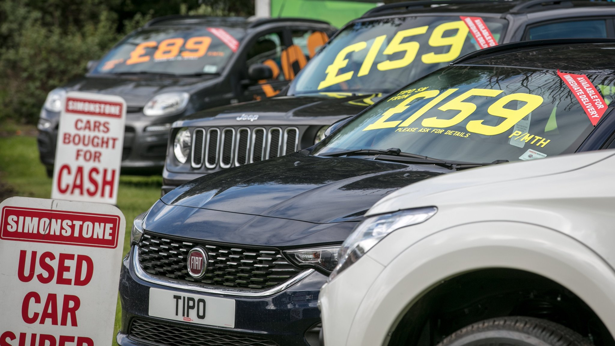 Used car pile-up signals a diversion in the auto trade | Financial Times