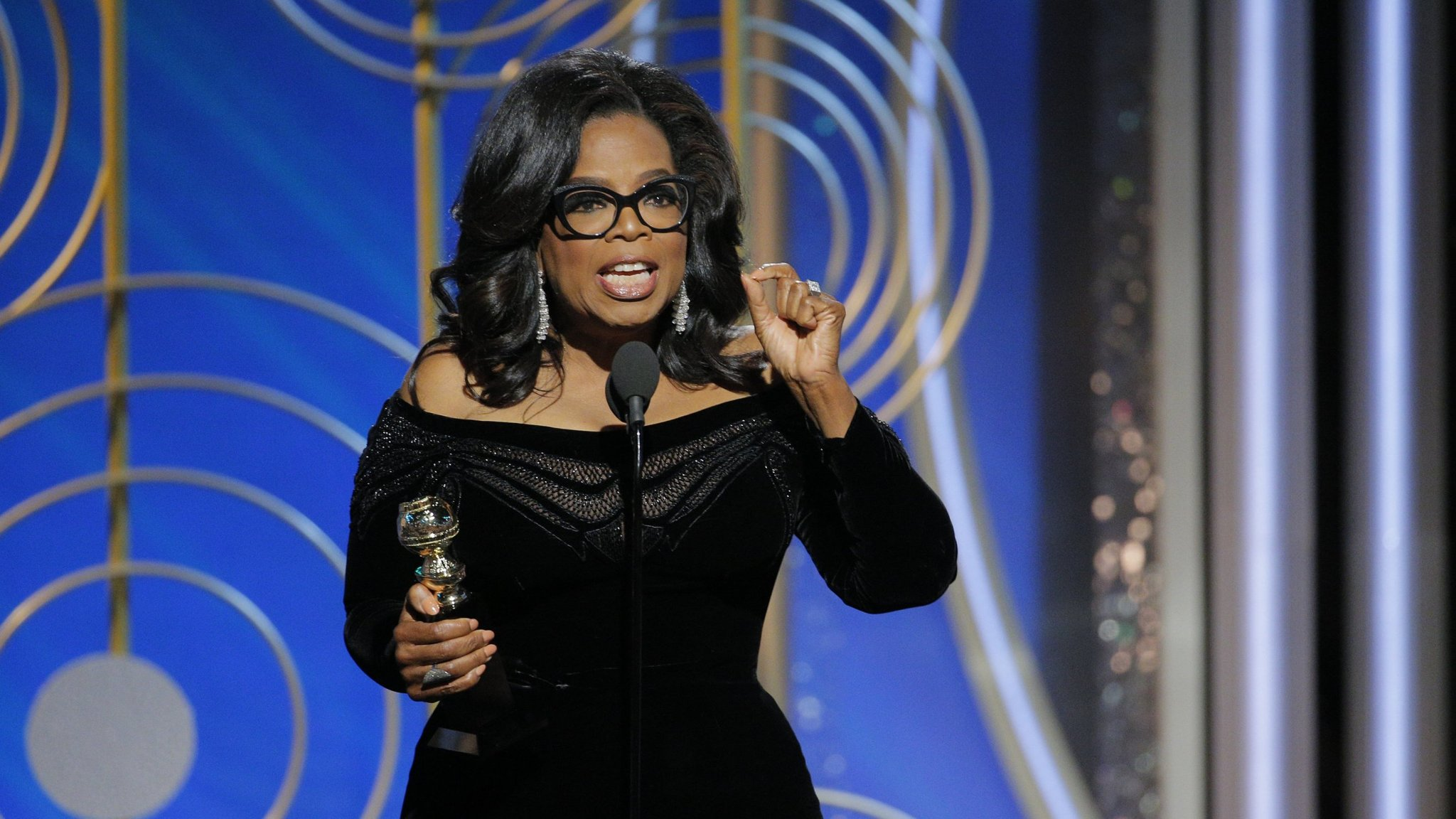 Oprah Winfrey's speech was a masterstroke of delivery
