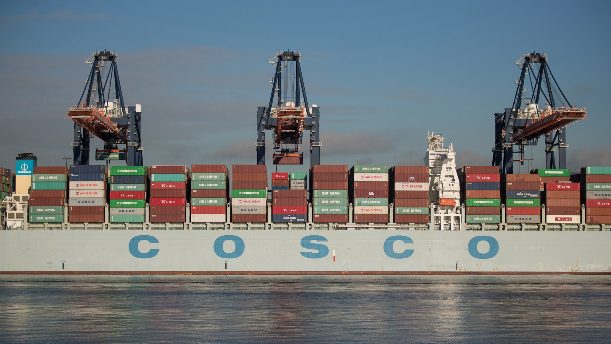China underlines shipping ambitions with $6 3bn takeover of